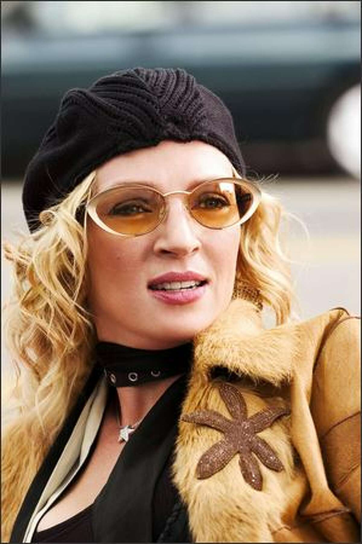 Uma Thurman stars as Edie Athens, who has a failing indie record label.