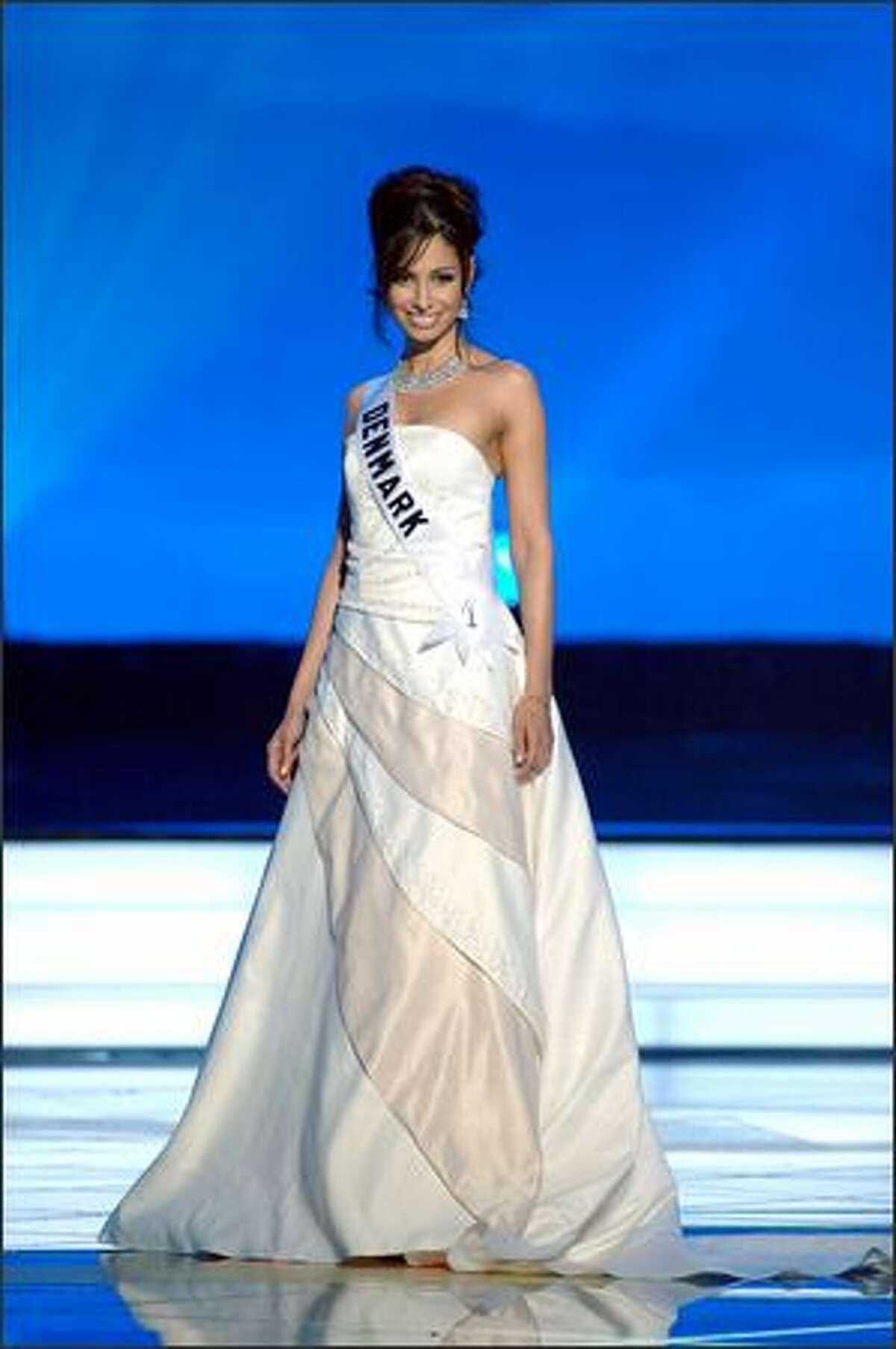 Gitte Hanspal, Miss Denmark.
