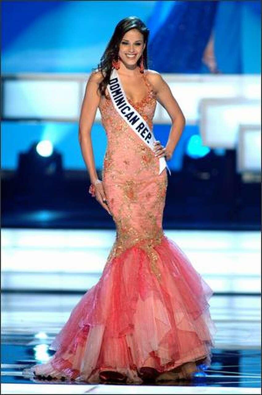 Renata Sone, Miss Dominican Republic.
