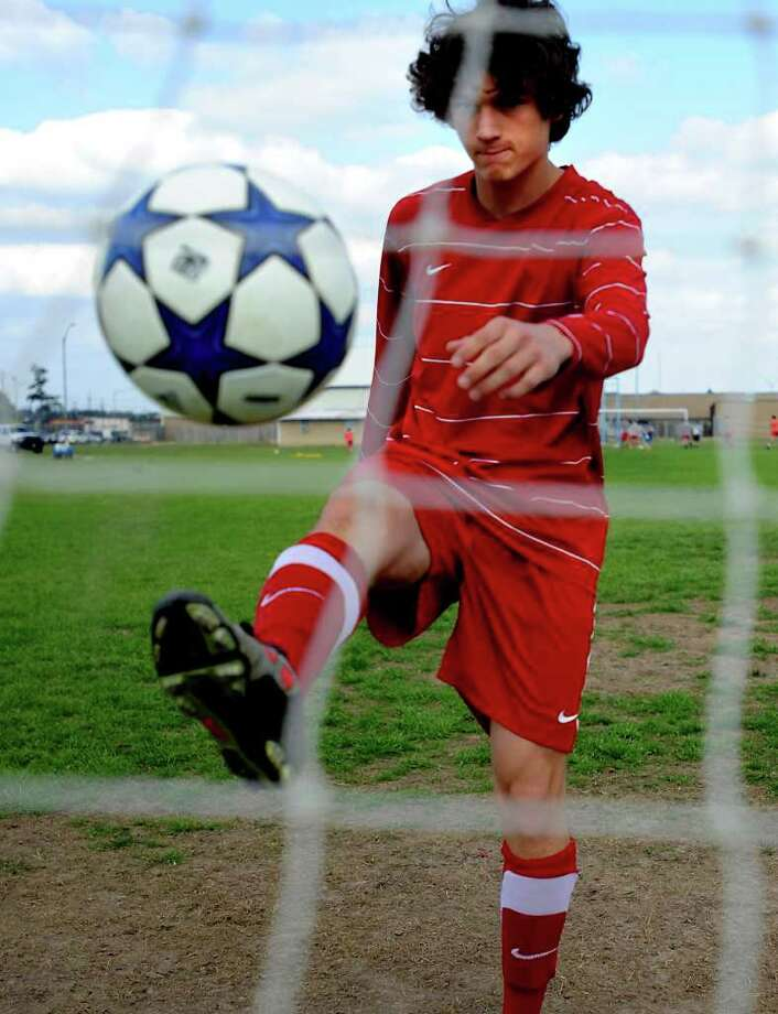 Jordan Granato is the 2011 District 37-4A boys soccer Co-Most Valuable Player. Tammy McKinley/The Enterprise Photo: TAMMY MCKINLEY / Beaumont