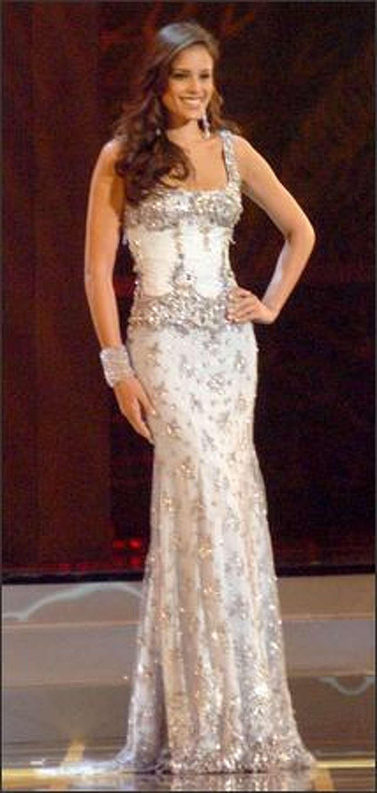 Miss Universe 2005 semi-finalist Renata Soñé, Miss Dominican Republic.