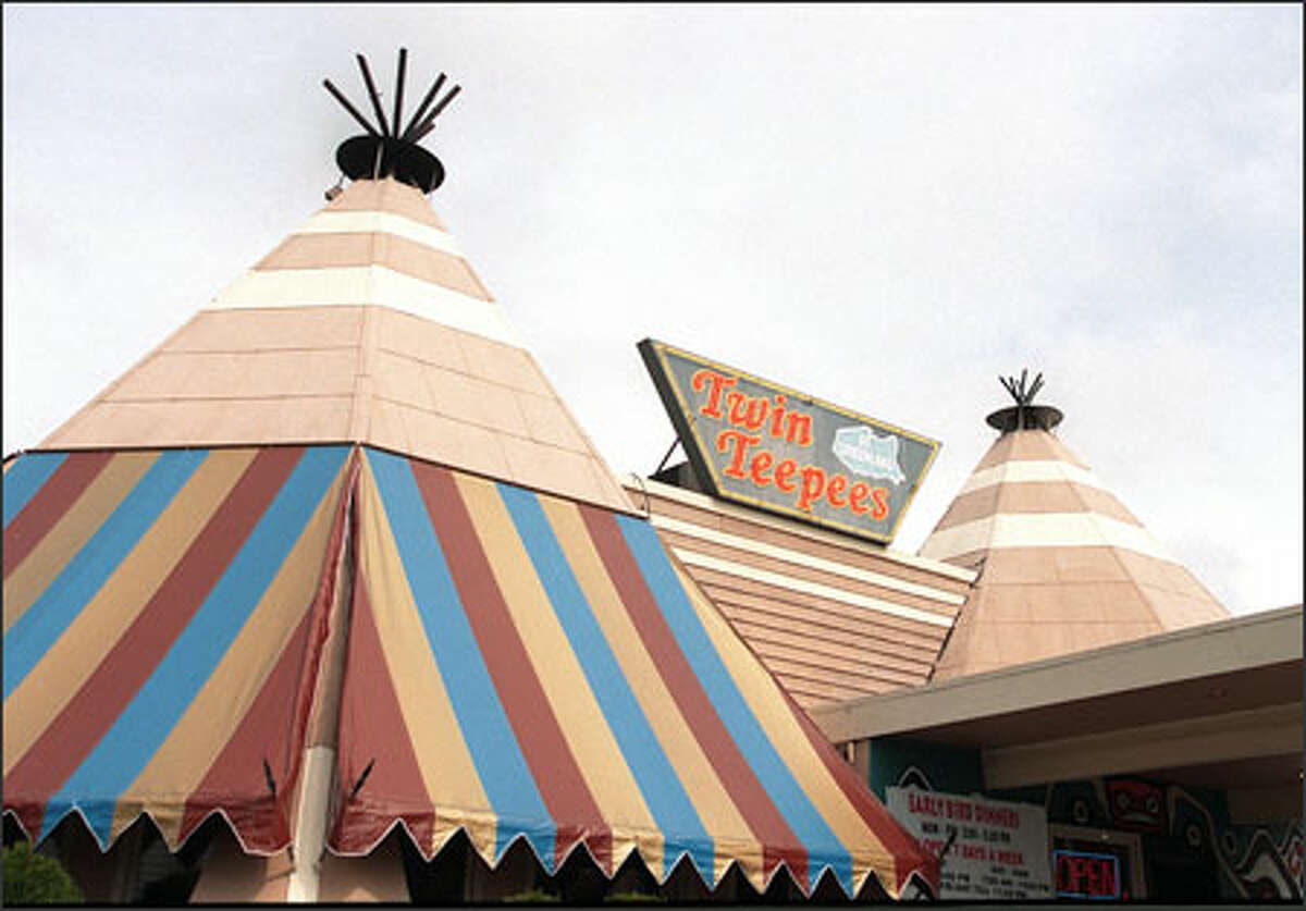 Twin Teepees: The restaurant on Aurora Avenue was torn down in 2001. A reader writes: