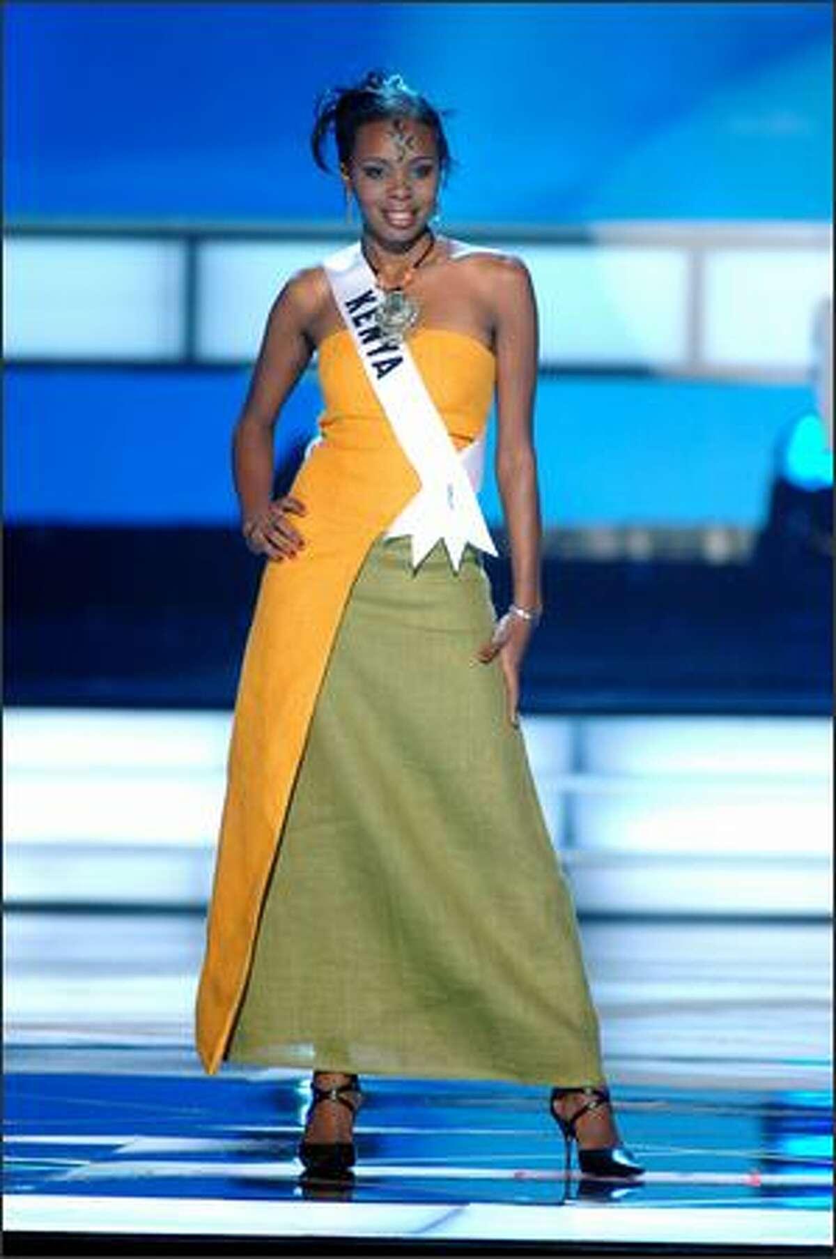 Rachel Marete, Miss Kenya.