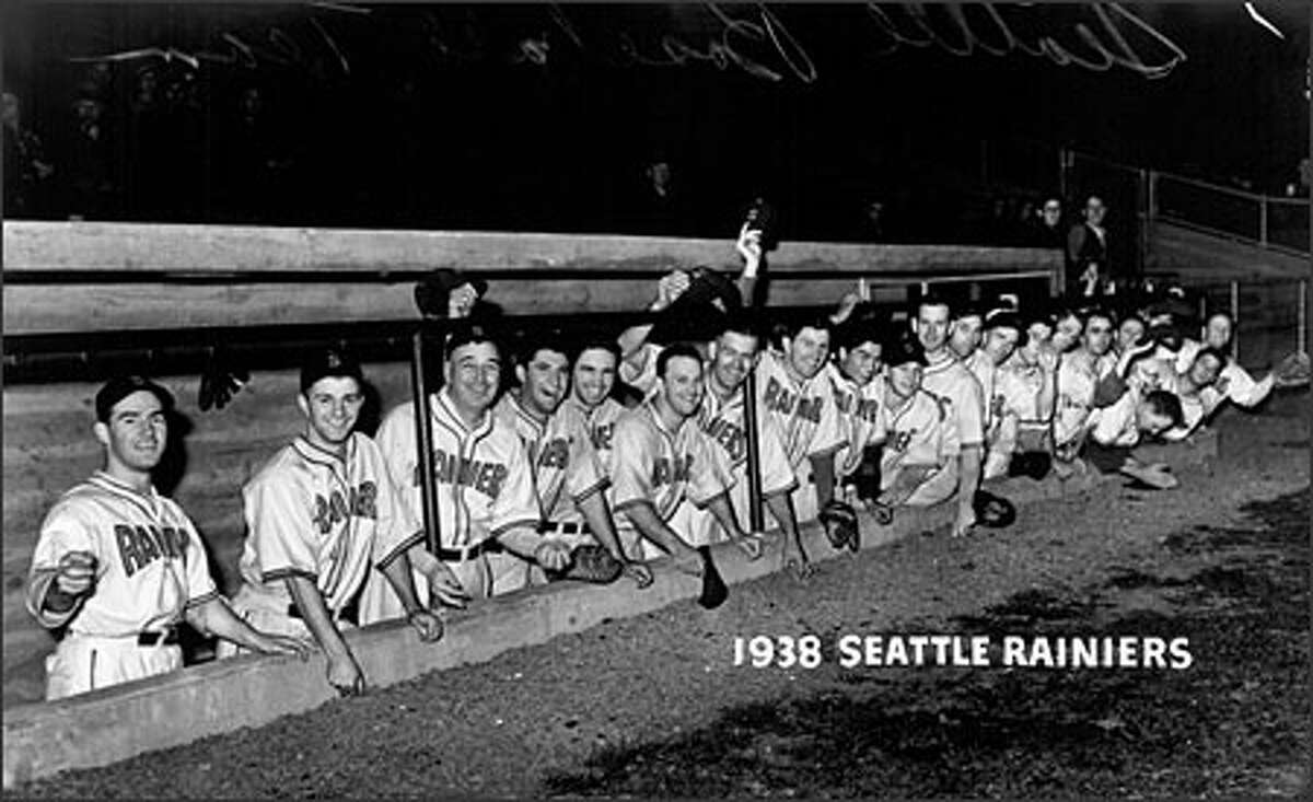 The Seattle Rainiers played poorly in 1937, their first season, but the franchise really took off in 1938. By the middle of the summer, the team was in fourth place in the Pacific Coast League and made it to the pennant finals. Excited fans at Sick's Seattle Stadium watched their home team win 100 games during the 1938 season.