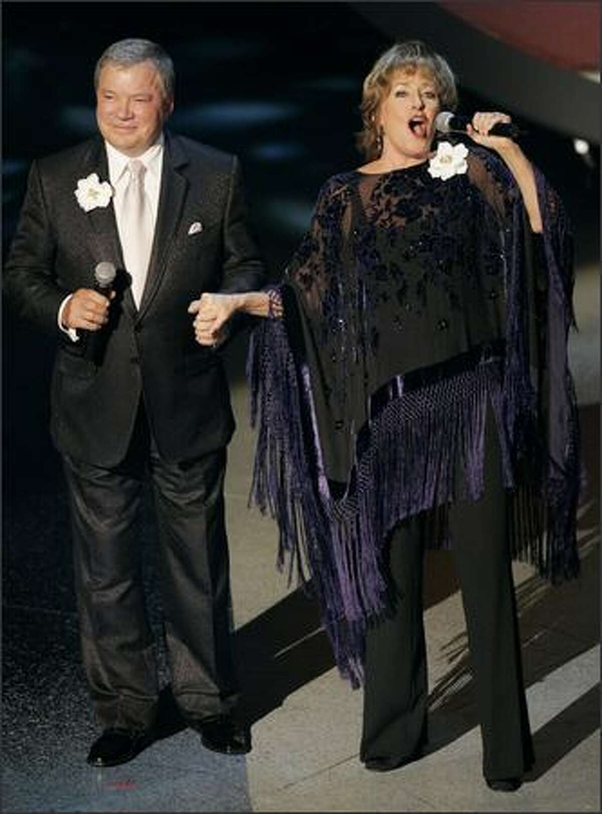 William Shatner and opera star Frederica Von Stade perform the