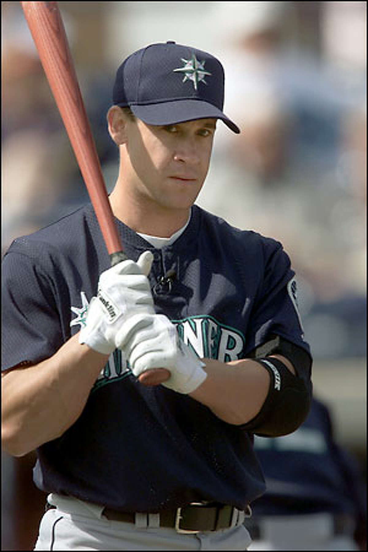 New 2B Bret Boone is expected to play a large role in the M's offense this year.