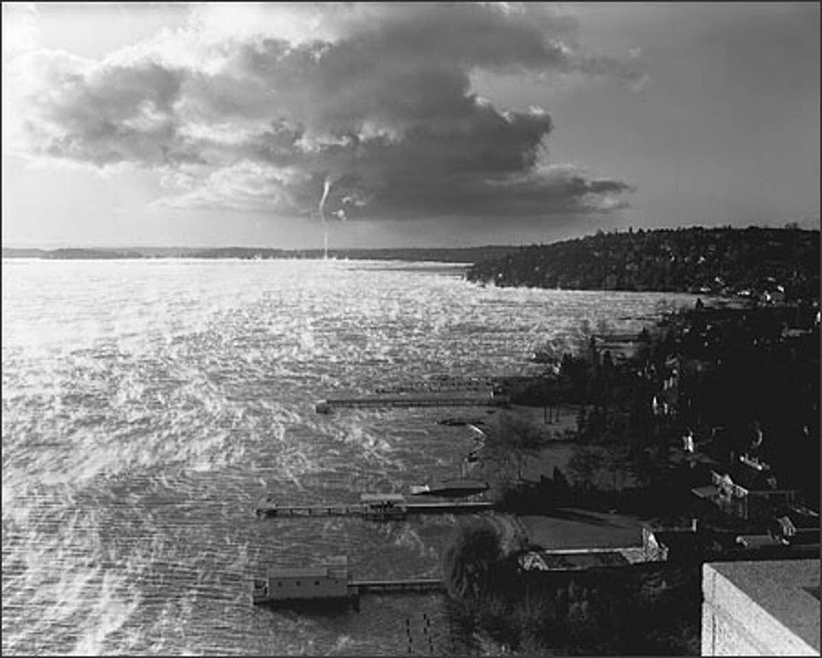 Seattle P-I photographer John Vallentyne, known as