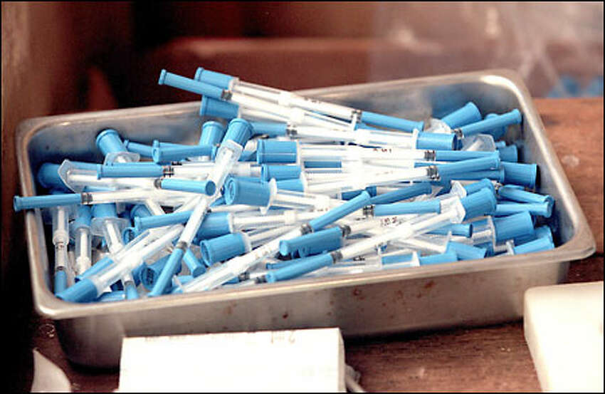 Among PATH's inventions: an auto-destruct syringe that prevents the spread of disease by making it impossible to reuse dirty needles.