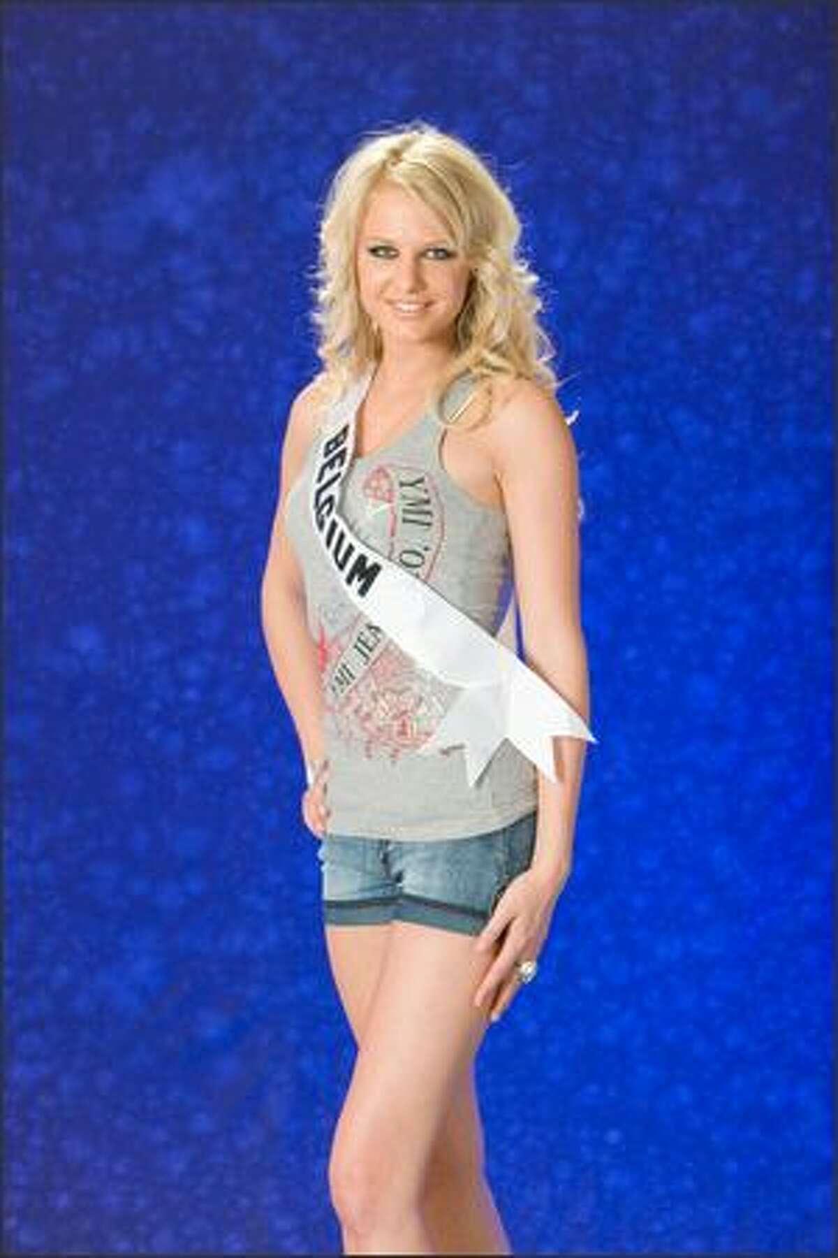 Annelien Coorevits, Miss Belgium 2007.