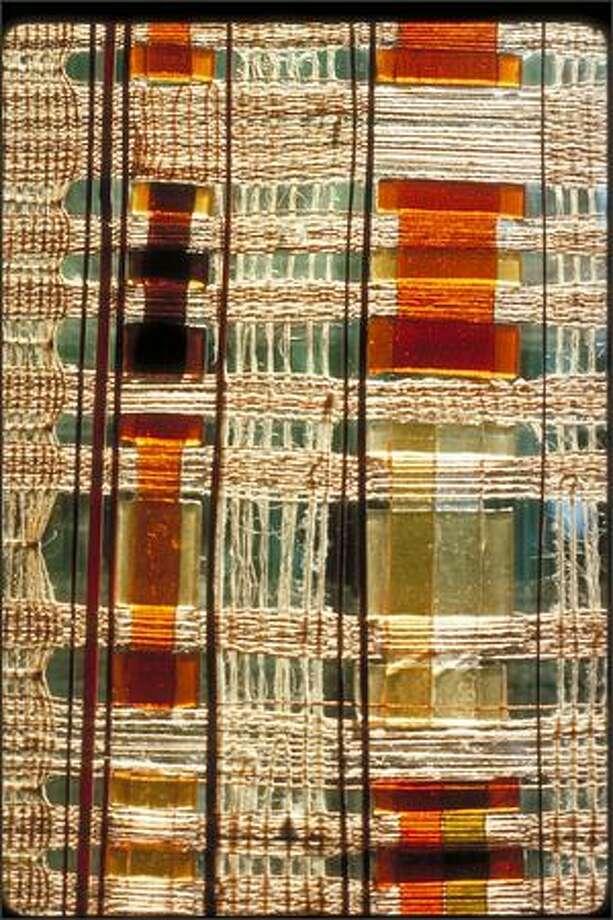 Weaving with Fused Glass (1964) Photo: Chihuly Studio