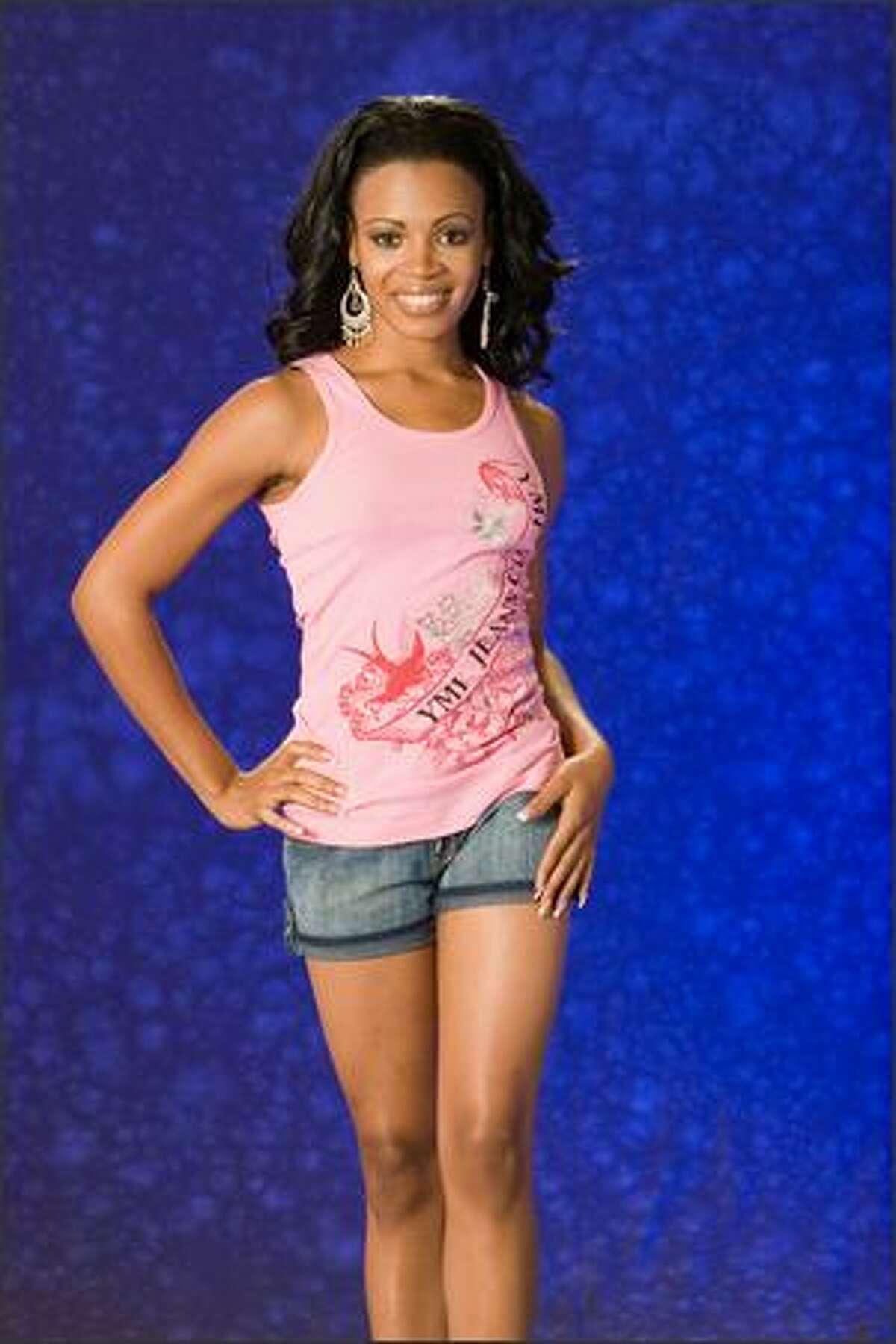 Trinere Lynes, Miss Bahamas 2007.