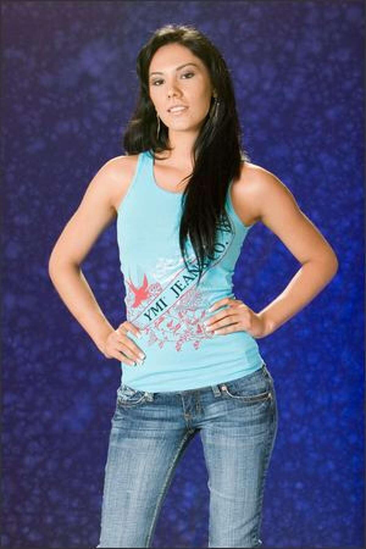 Lissette Rodriguez, Miss El Salvador 2007.
