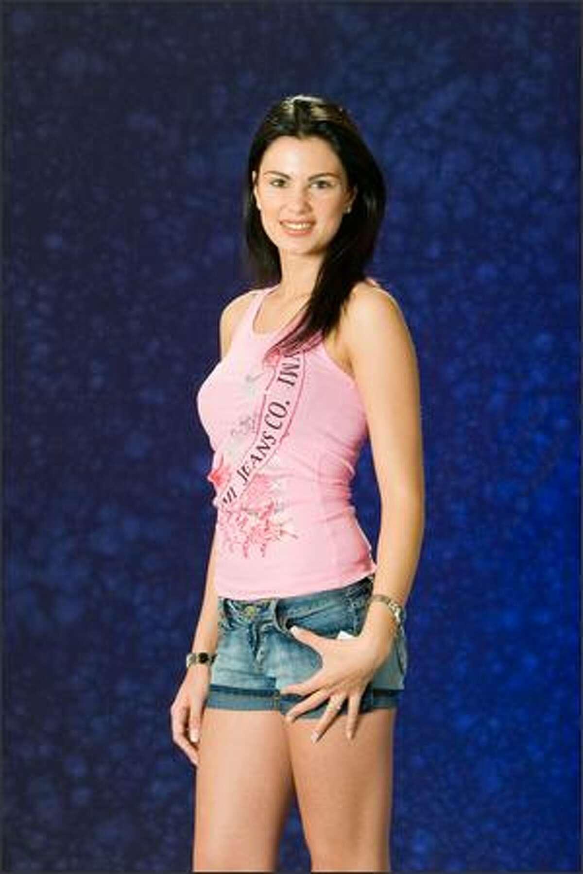 Ildiko Bona, Miss Hungary 2007.