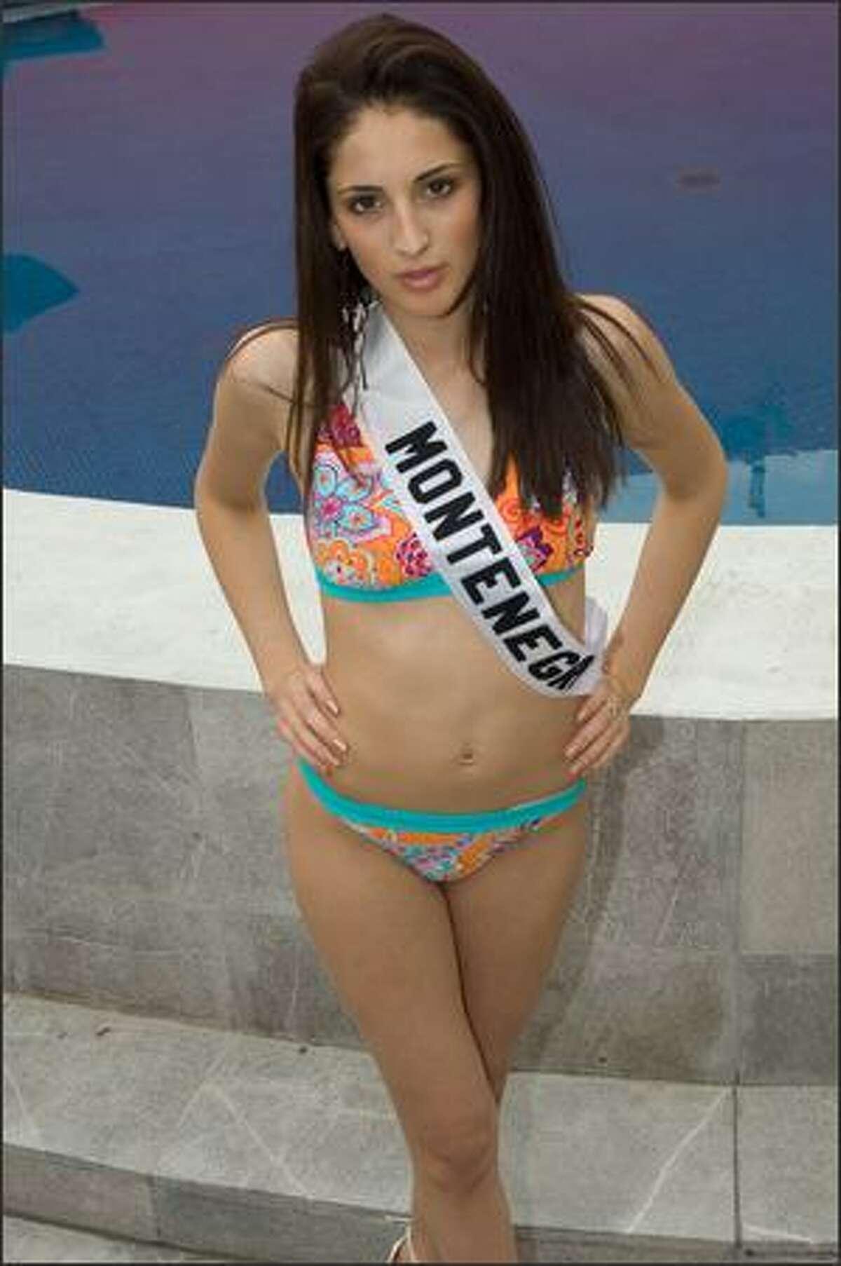 Snezana Buskovic, Miss Montenegro 2007.