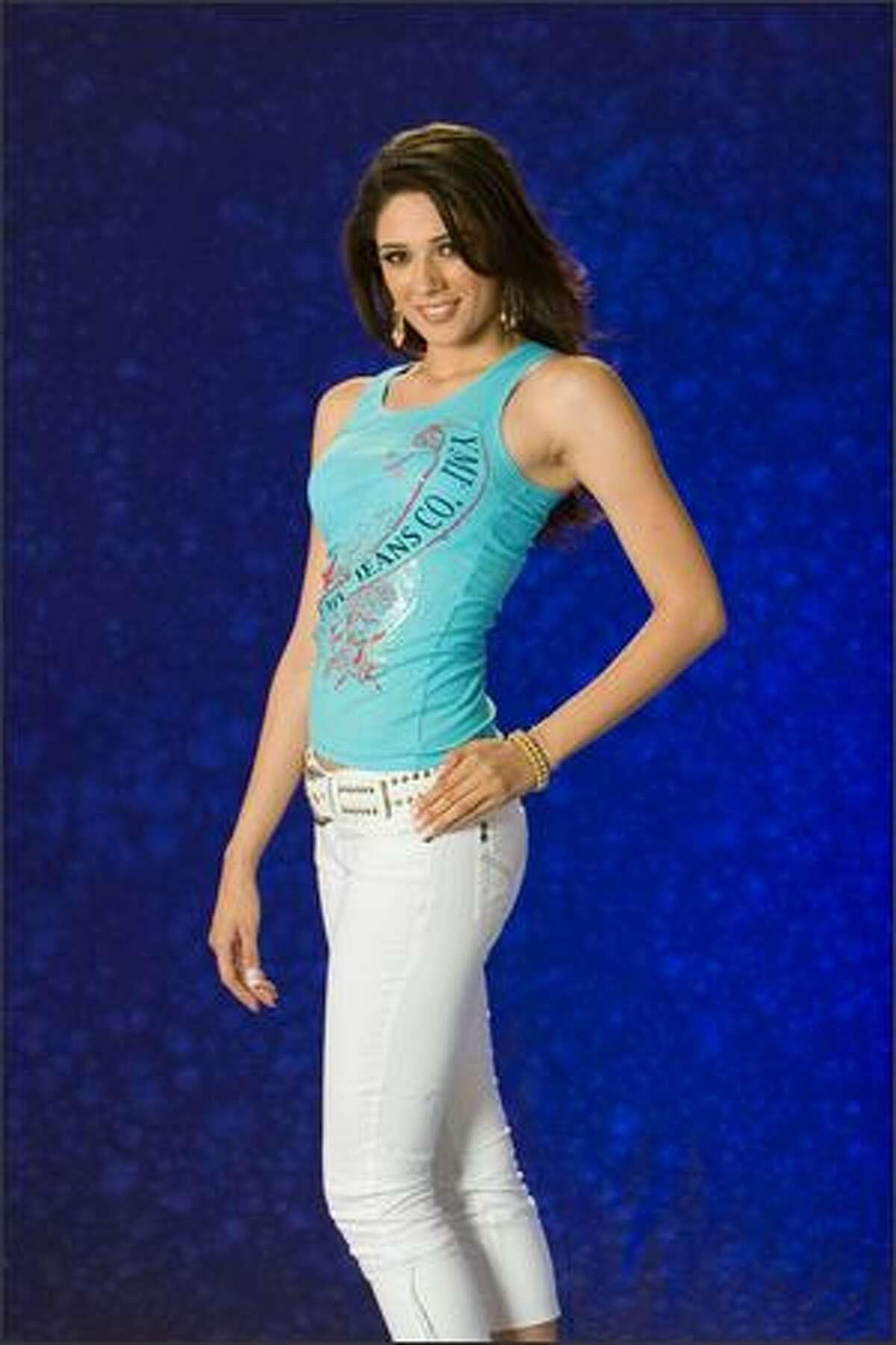 Nadine Njeim, Miss Lebanon 2007.