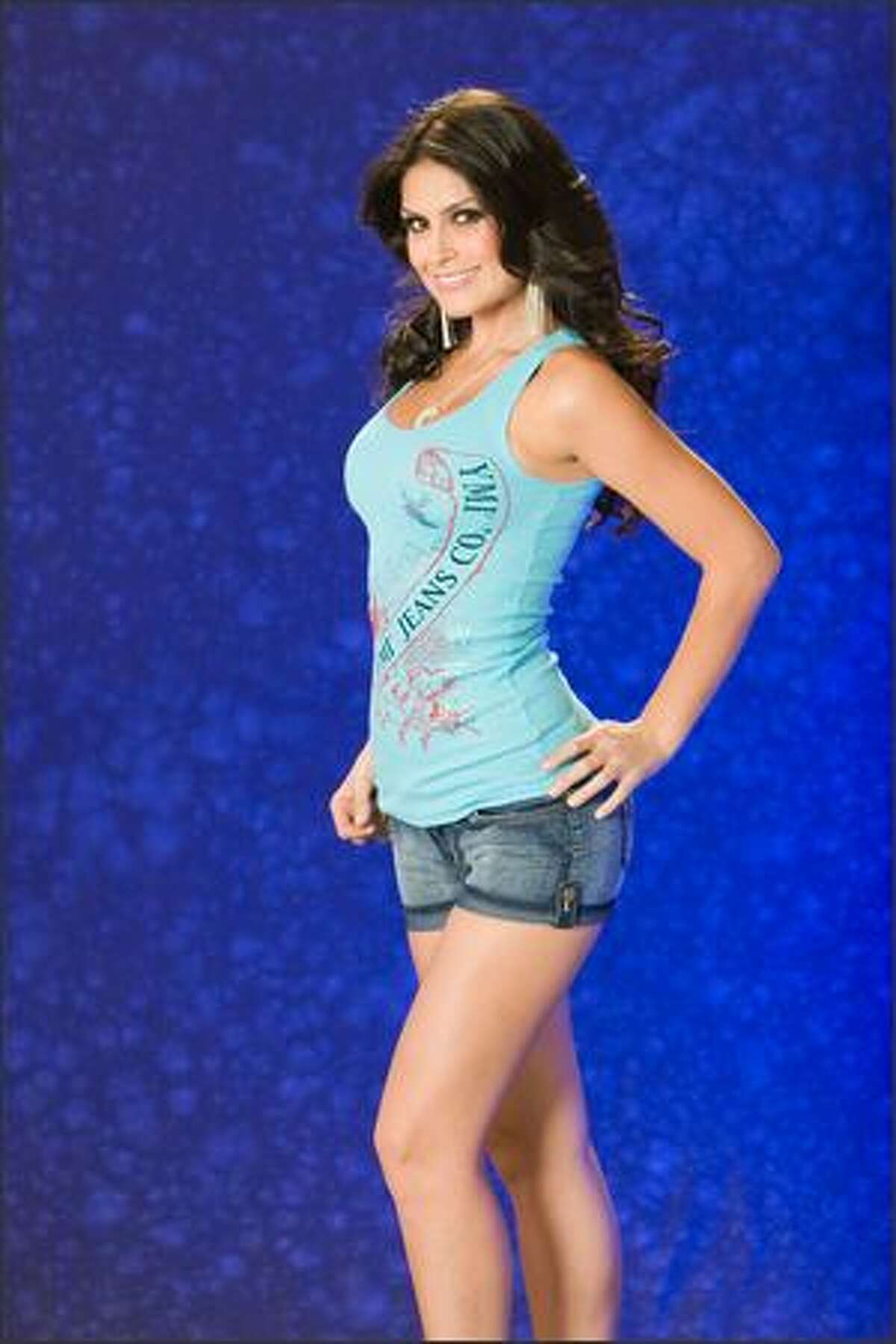 Natalia Guimaraes, Miss Brazil 2007.
