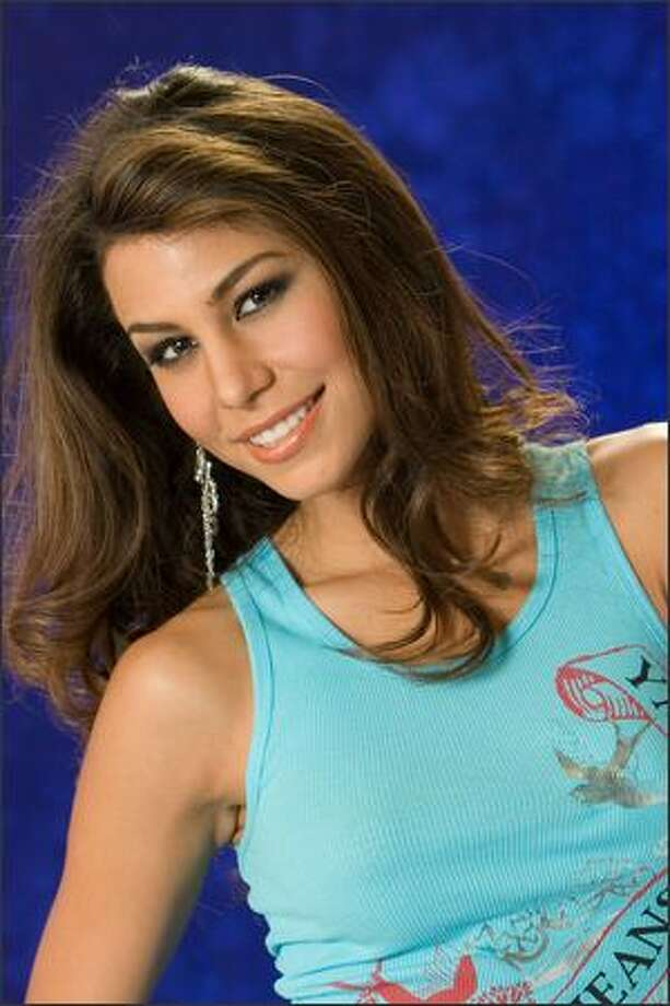 Jessica Jordan Burton, Miss Bolivia 2007, poses in her YMI Jeanswear at the Camino Real Mexico in Mexico City on May 4. She will compete for the title of Miss Universe 2007 during the NBC broadcast of the 56th annual Miss Universe competition from Mexico City on May 28. Photo: Miss Universe L.P., LLLP