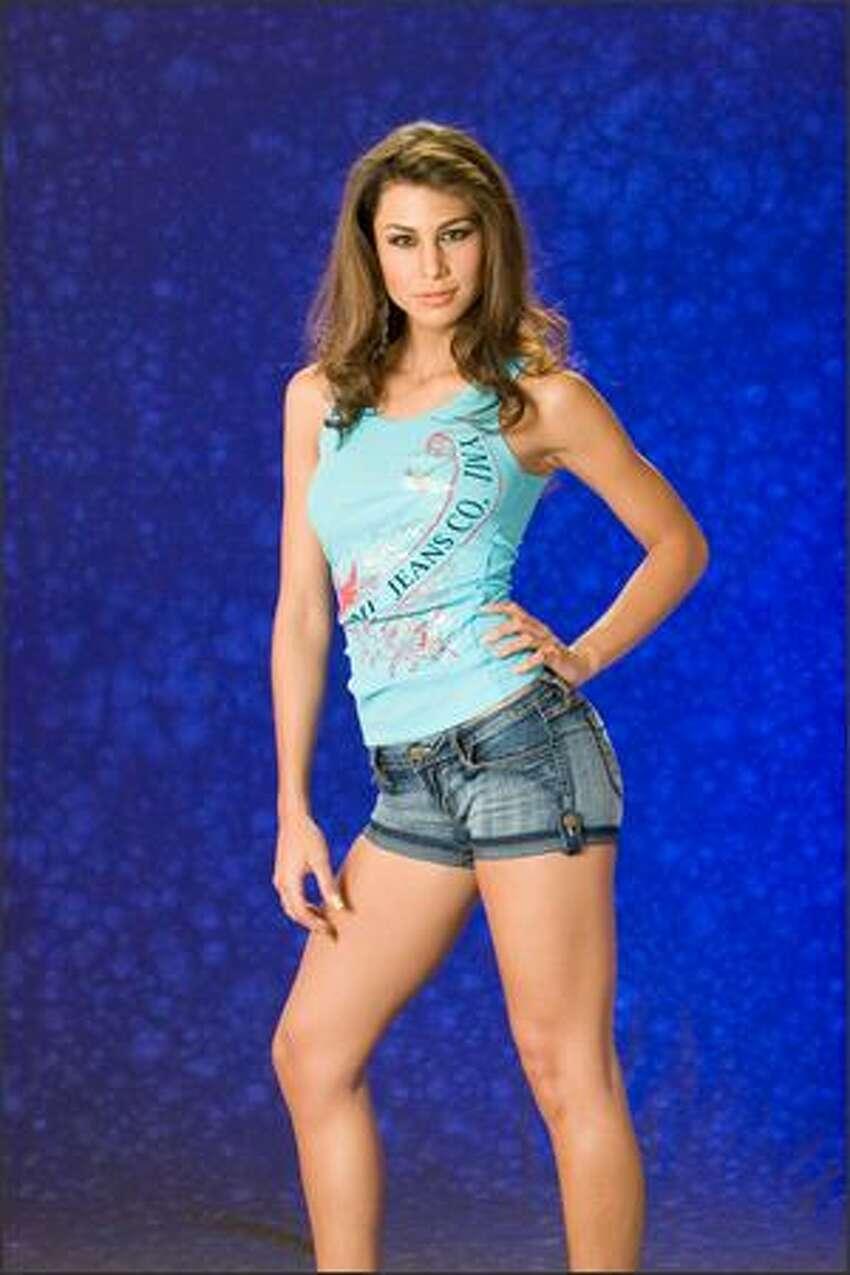 Jessica Jordan Burton, Miss Bolivia 2007.