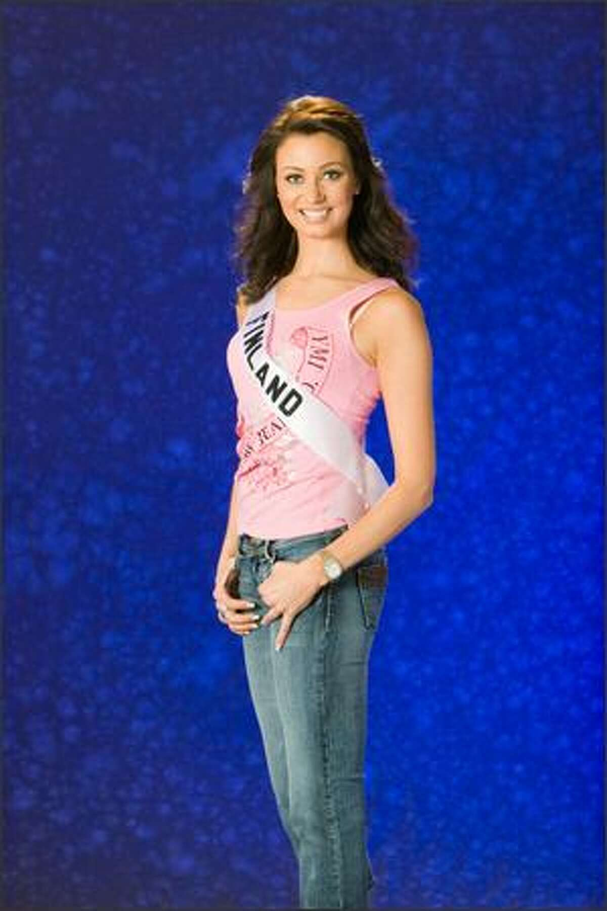 Noora Hautakangas, Miss Finland 2007.