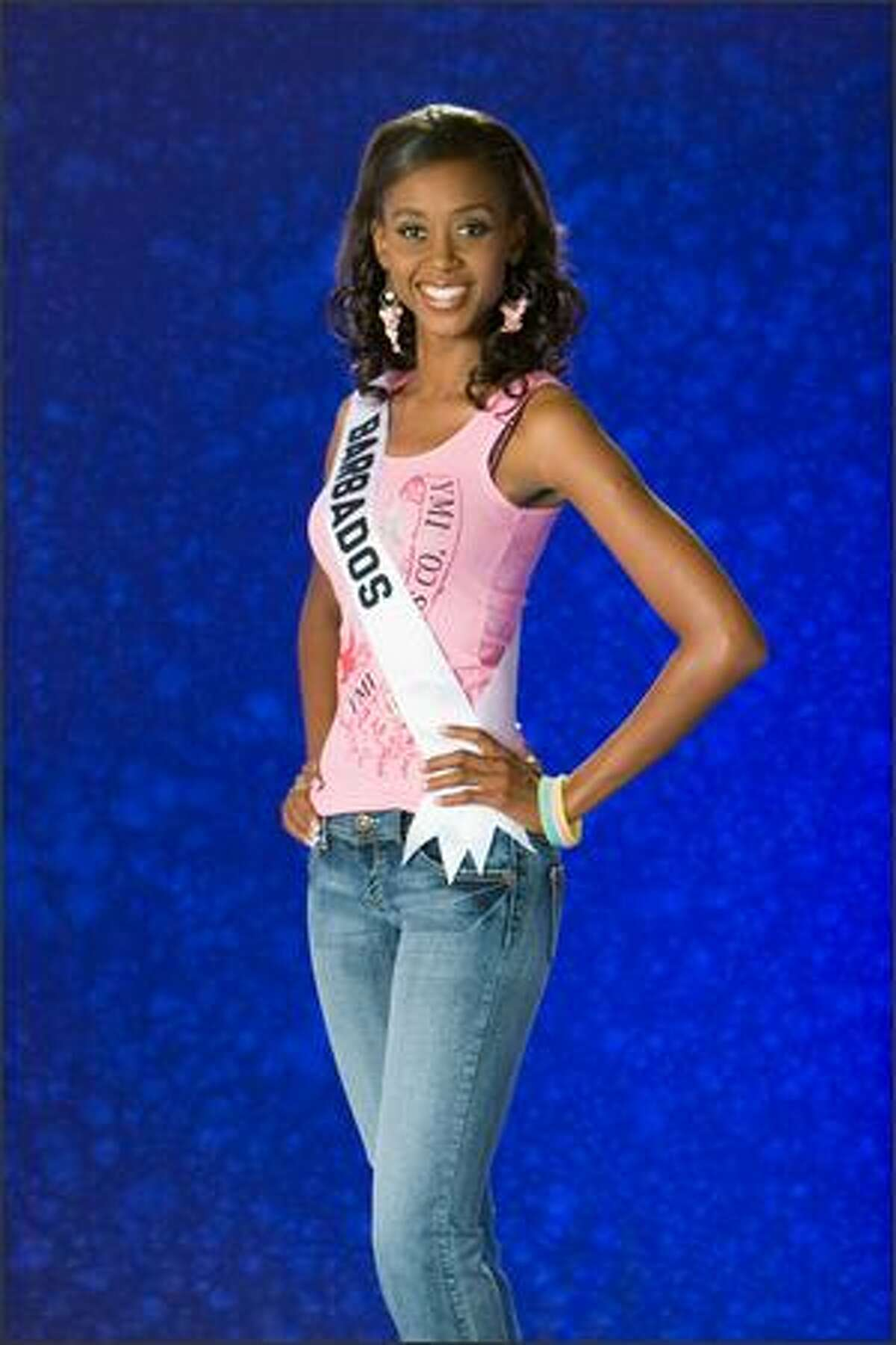 Jewel Garner, Miss Barbados 2007.