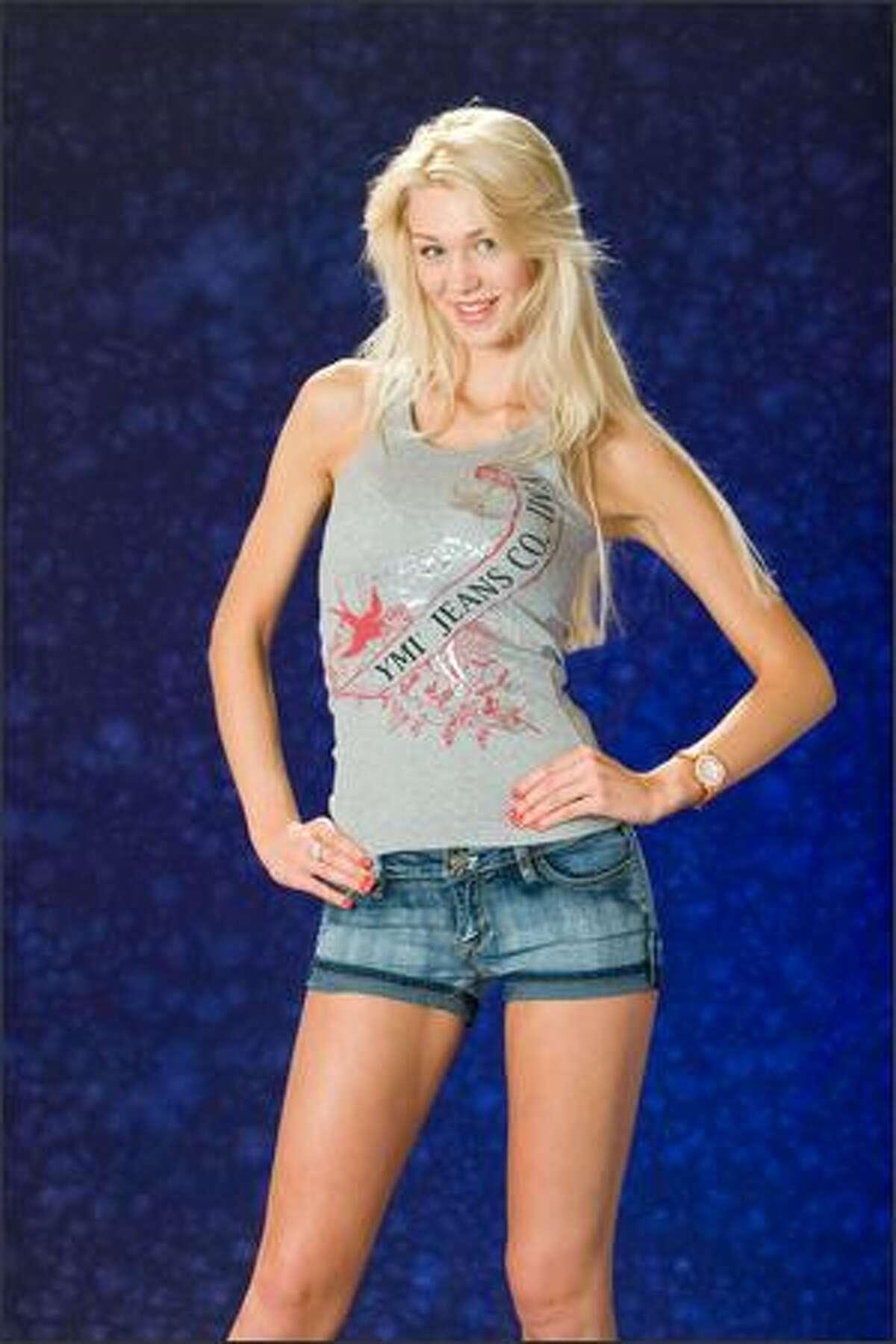 Viktoria Azovskaja, Miss Estonia 2007.