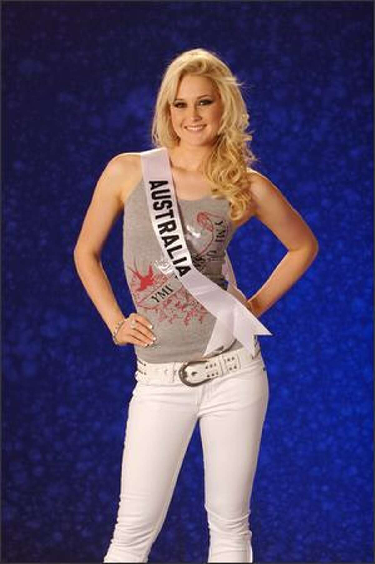 Kimberley Busteed, Miss Australia 2007.