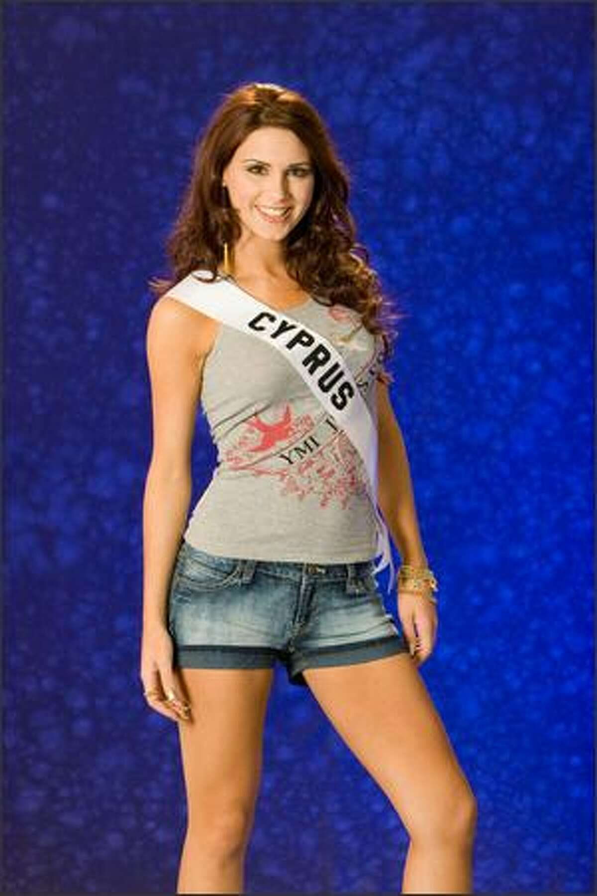 Polyvia Achilleos, Miss Cyprus 2007.