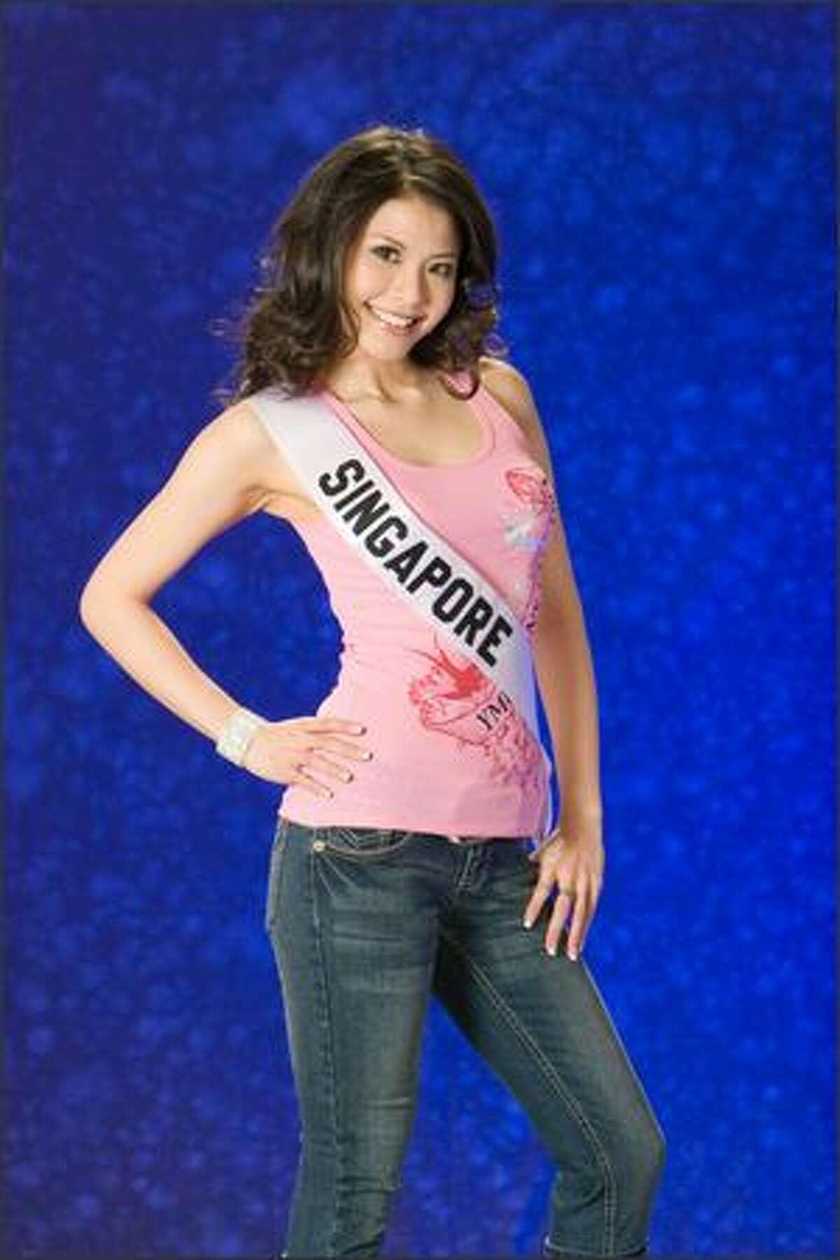 Jessica Tan, Miss Singapore 2007.