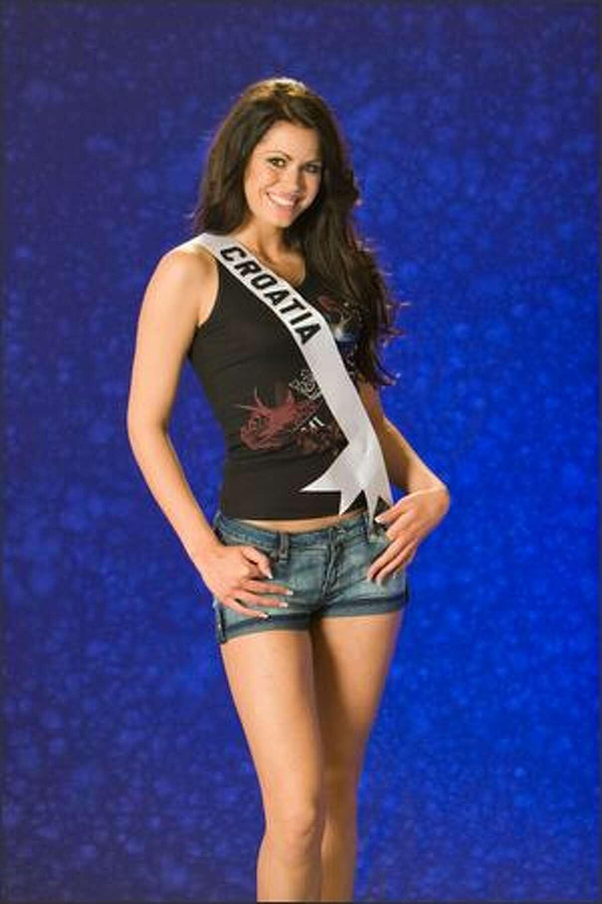 Jelena Maros, Miss Croatia 2007.
