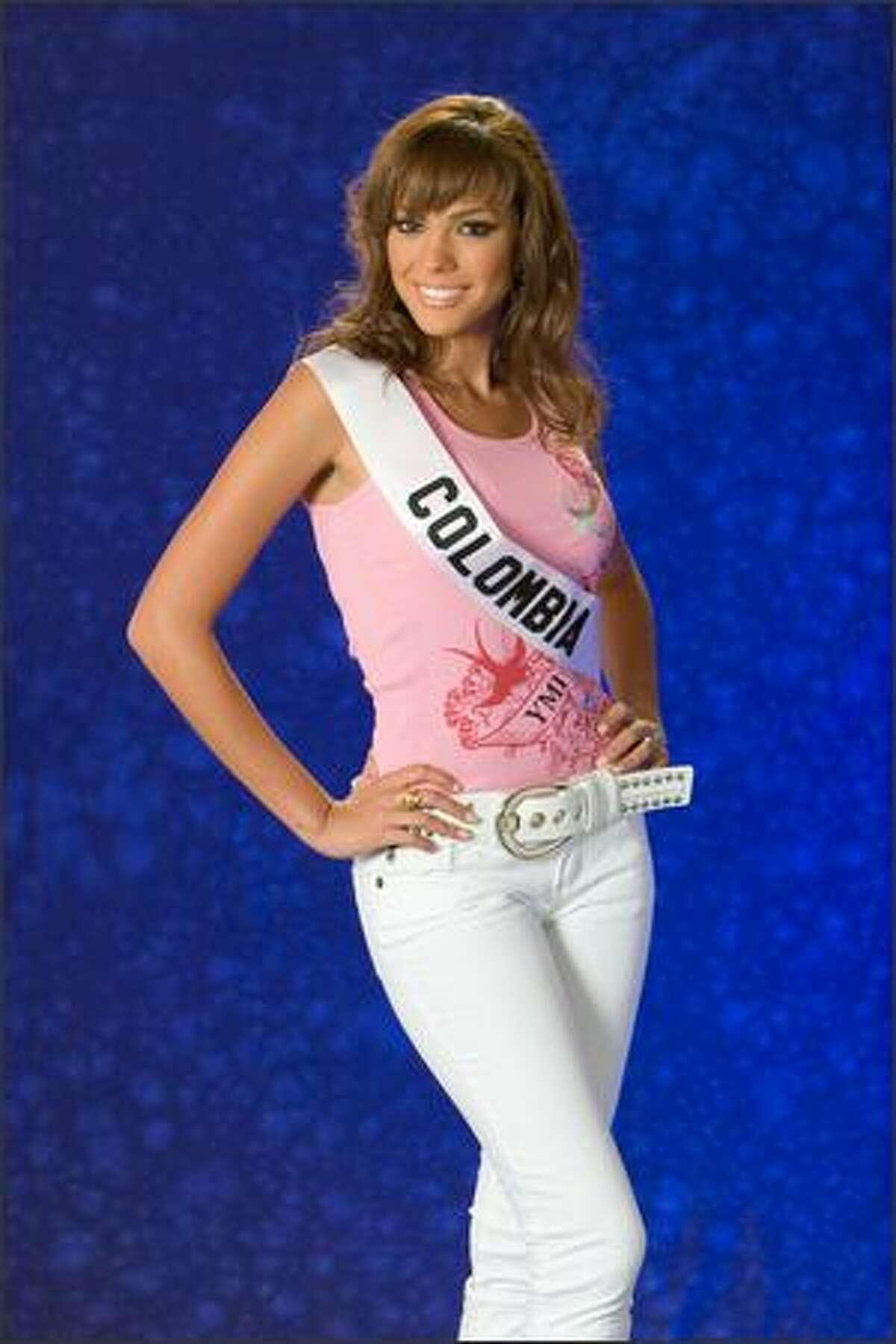 Eileen Roca, Miss Colombia 2007.