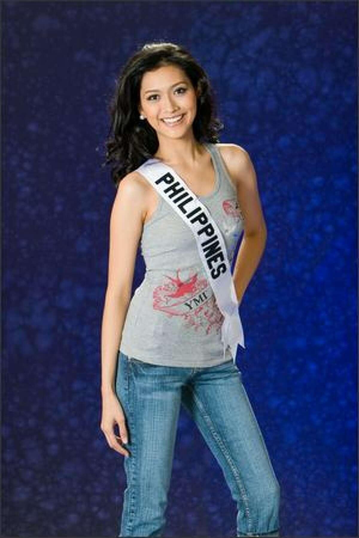 Anna Theresa Licaros, Miss Philippines 2007.