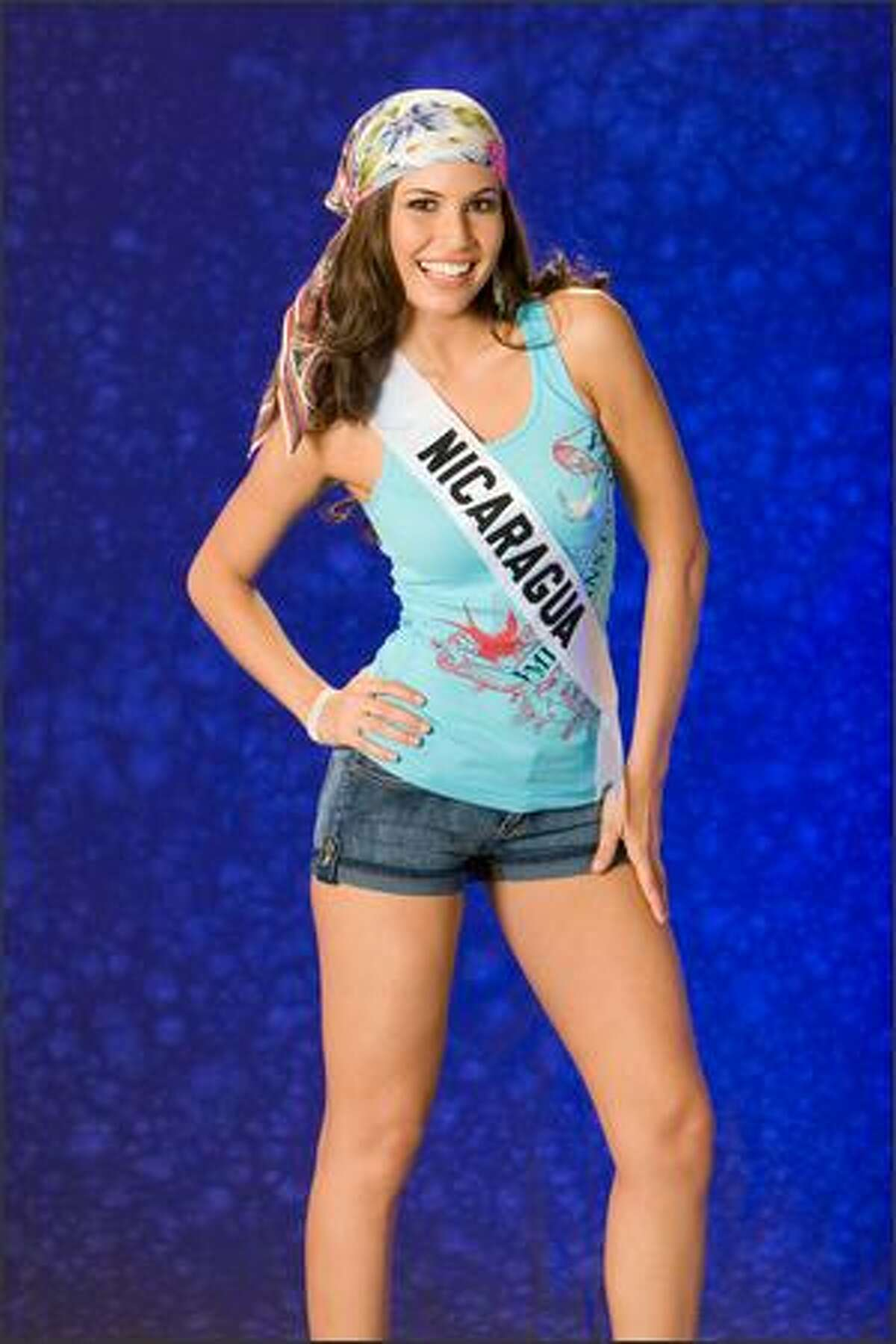 Xiomara Blandino, Miss Nicaragua 2007.