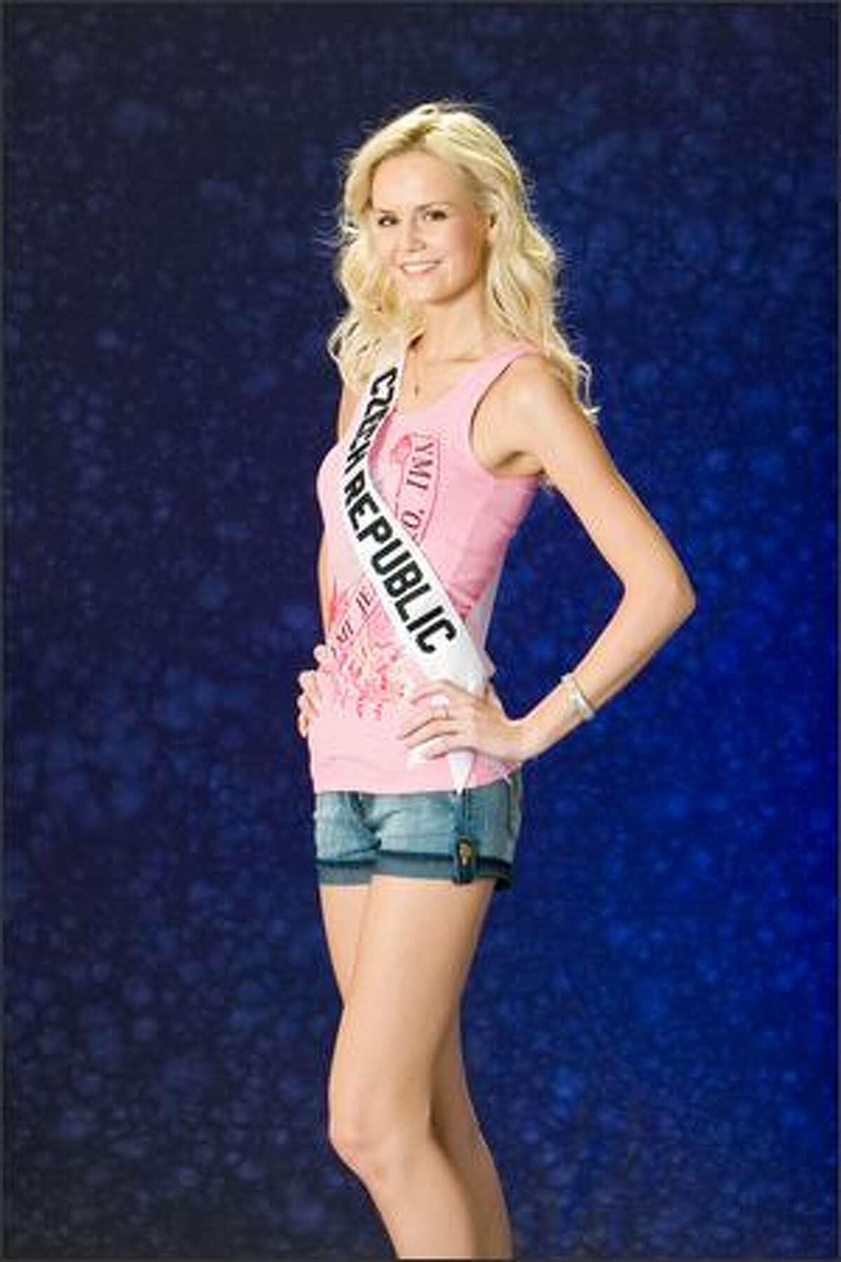 Lucie Hadasova, Miss Czech Republic 2007.