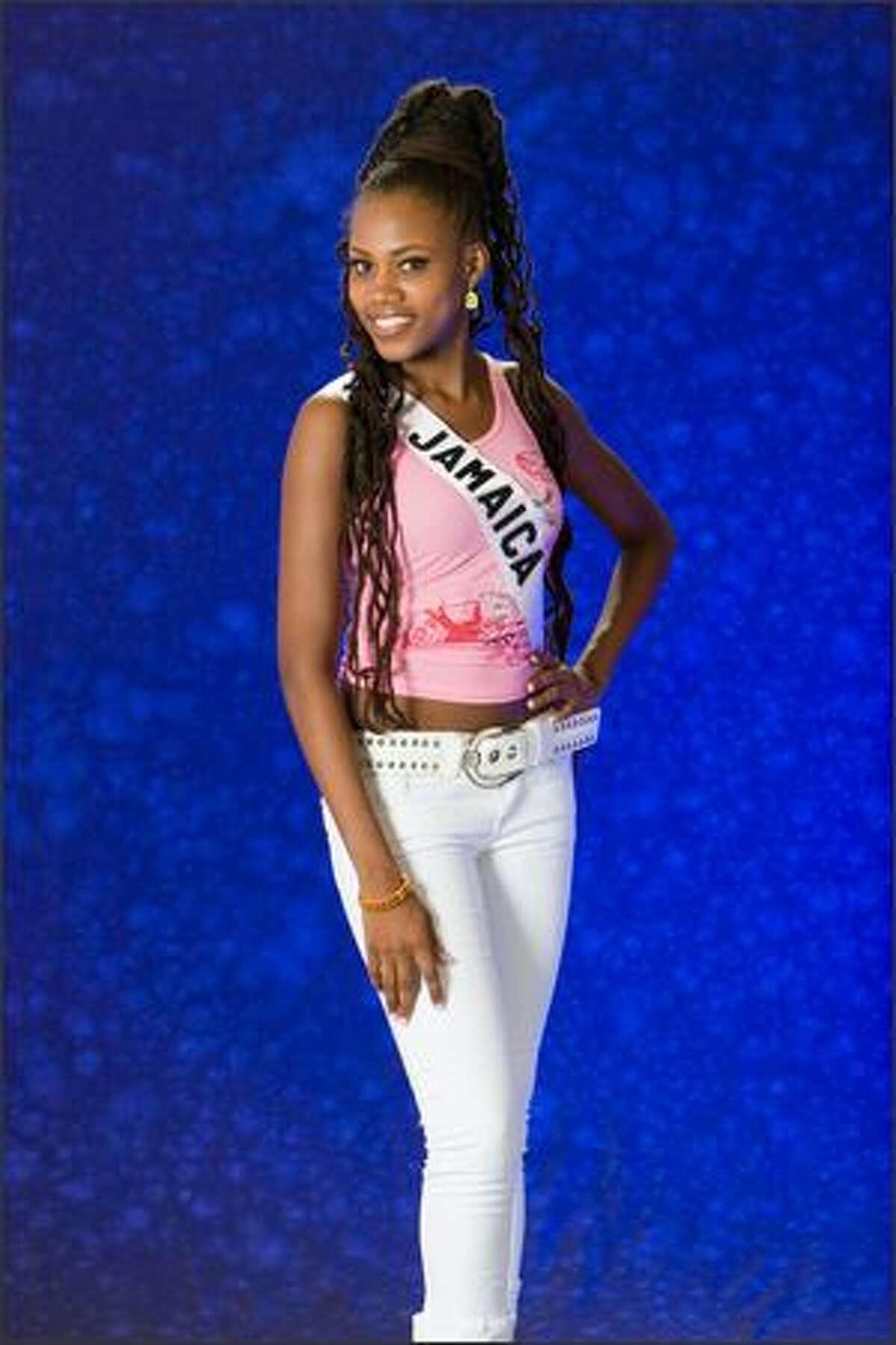 Zahra Redwood, Miss Jamaica 2007.