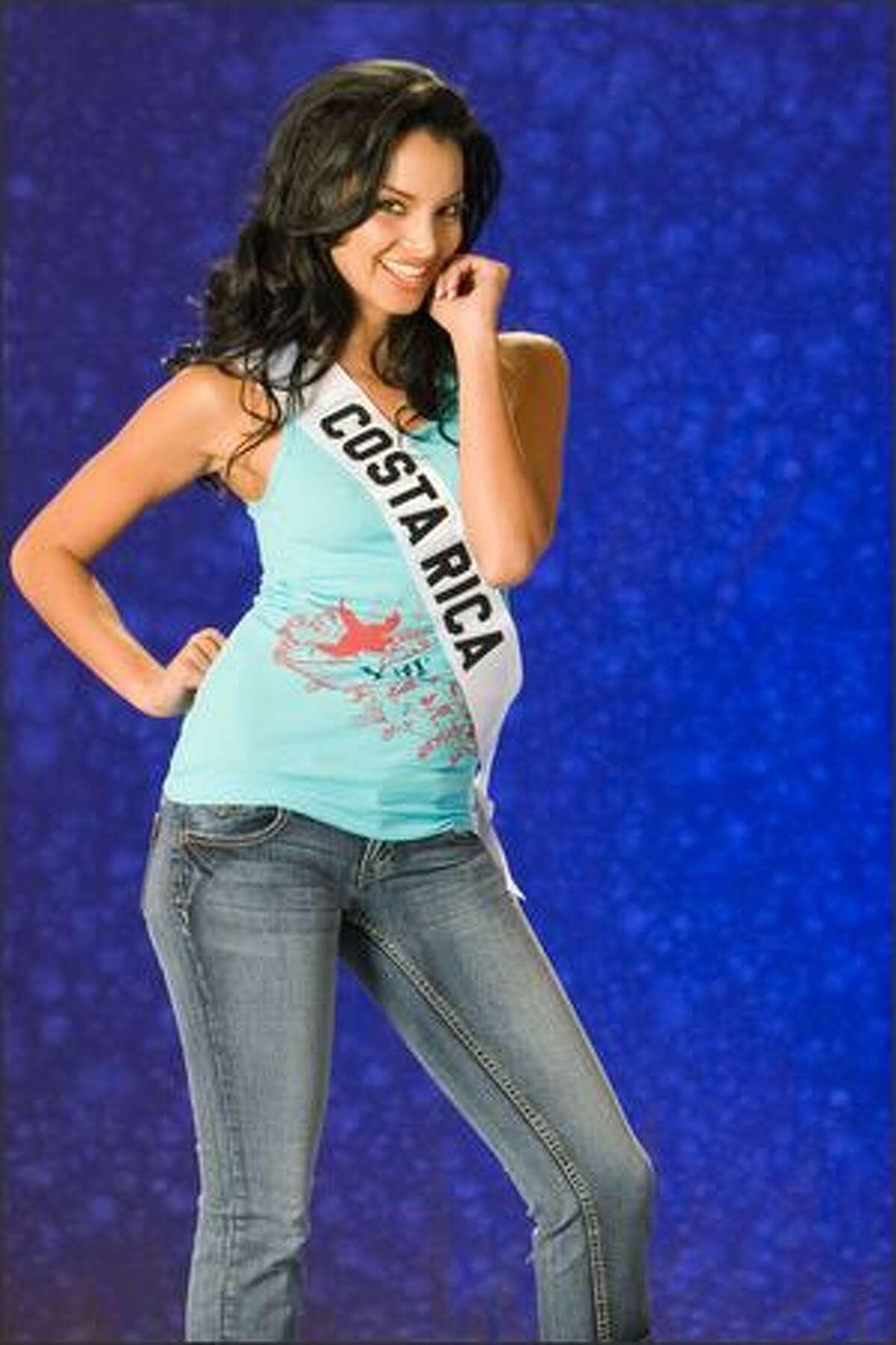 Veronica Gonzalez, Miss Costa Rica 2007.