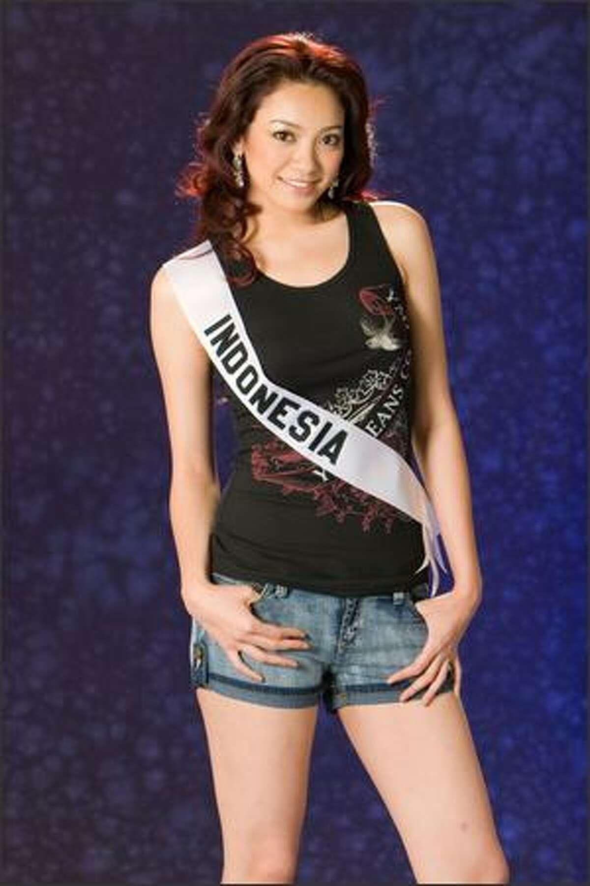 Agni Kuswardono, Miss Indonesia 2007.