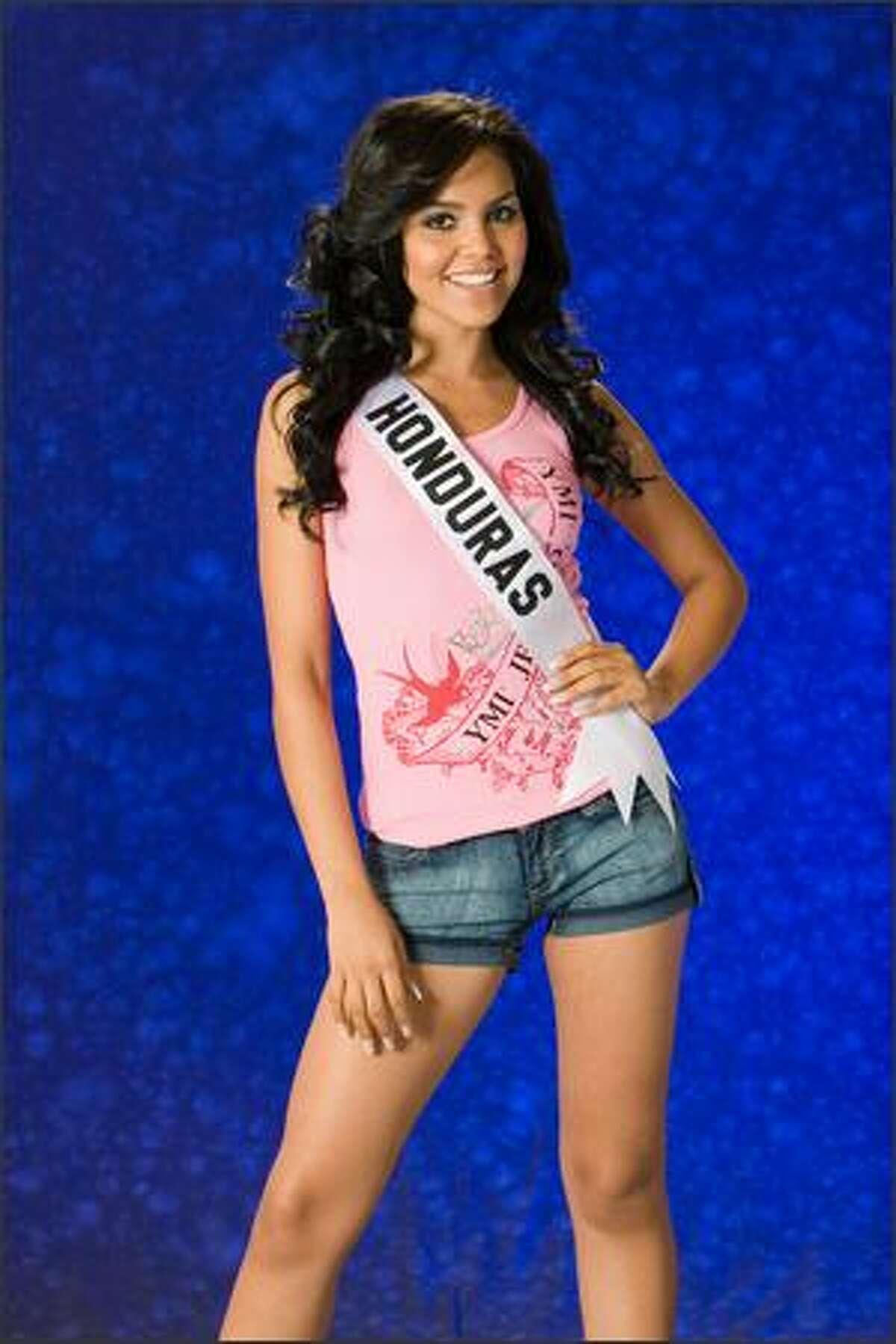 Wendy Salgado, Miss Honduras 2007.