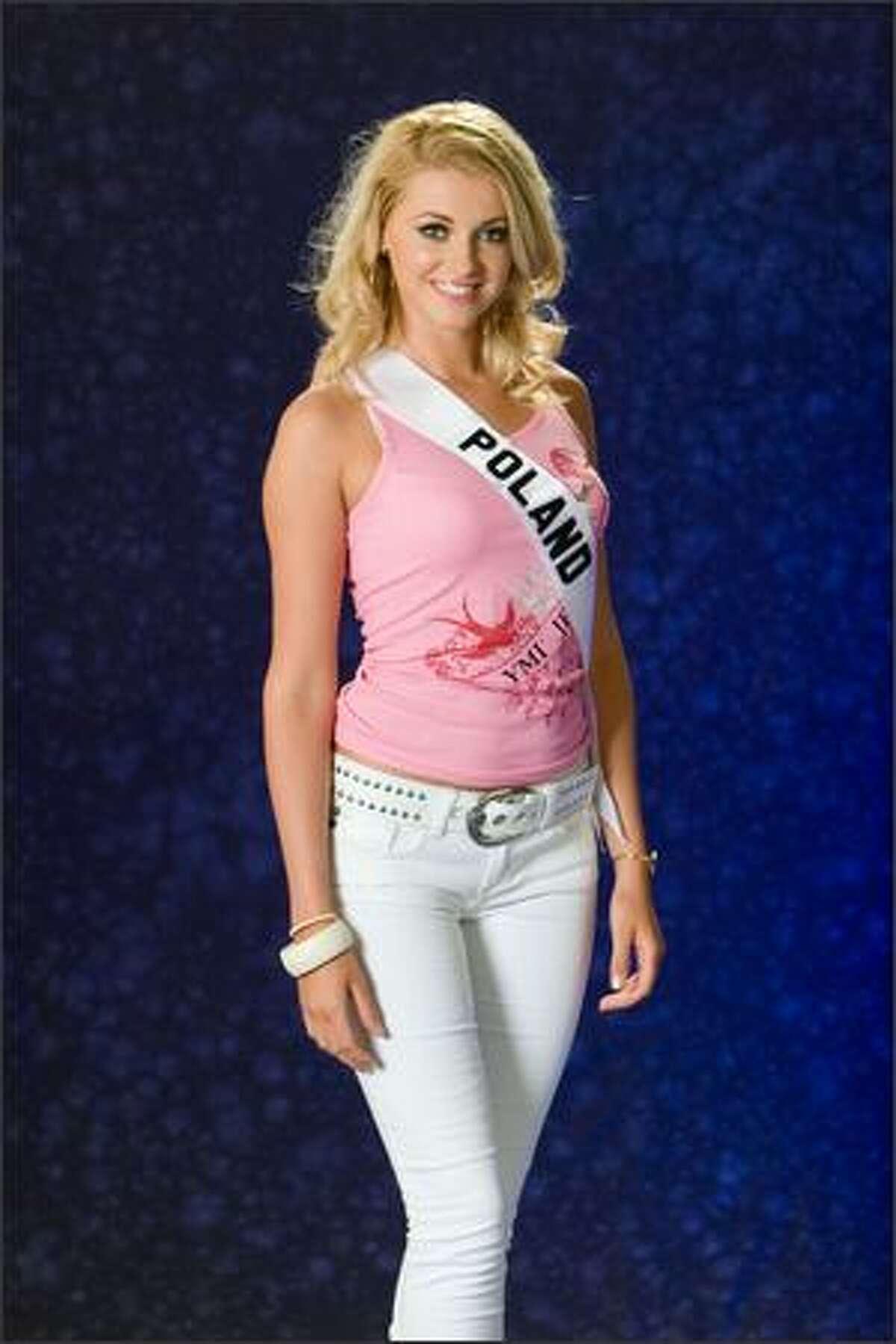 Dorota Gawron, Miss Poland 2007.