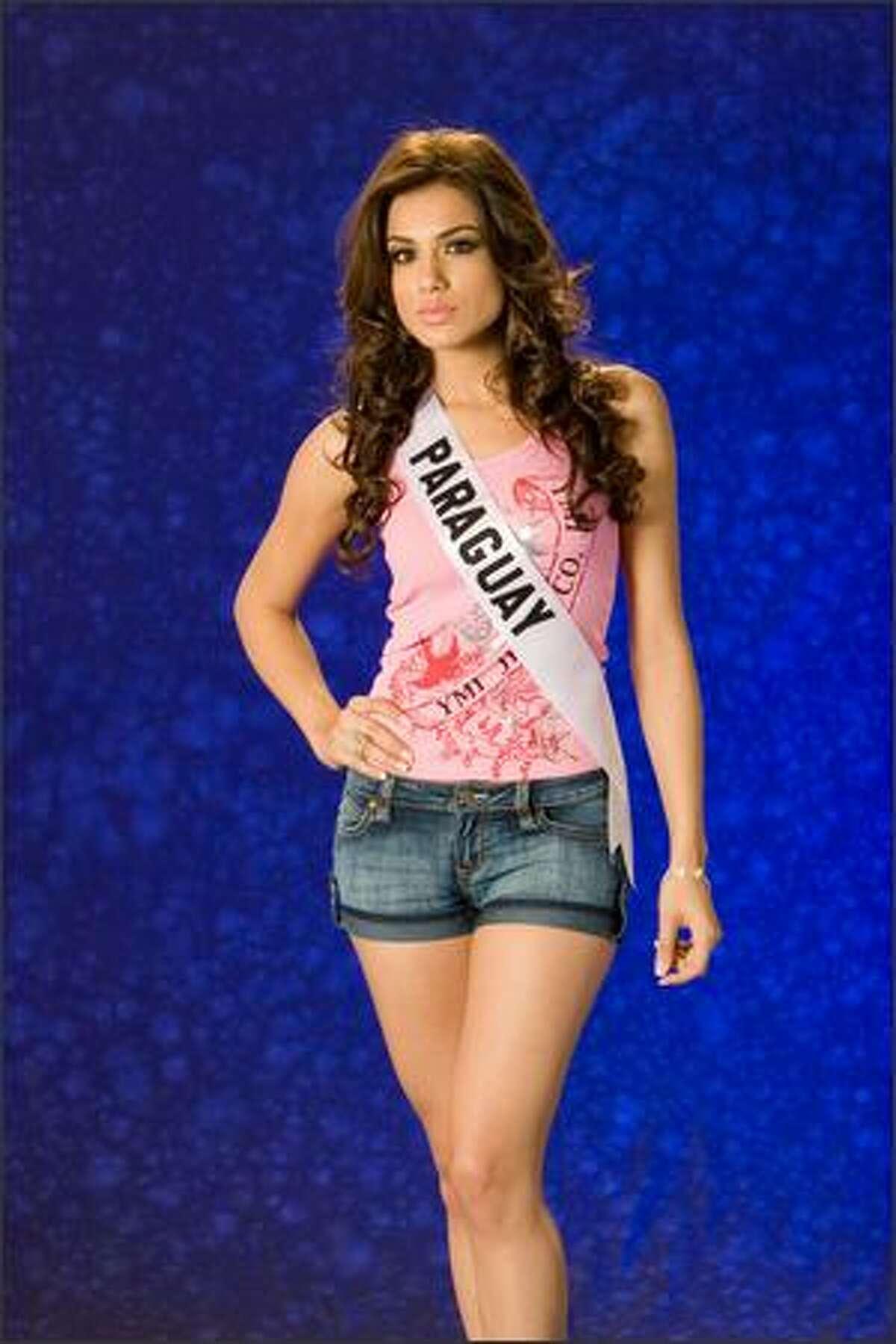 Maria Jose Maldonado Gomez, Miss Paraguay 2007.
