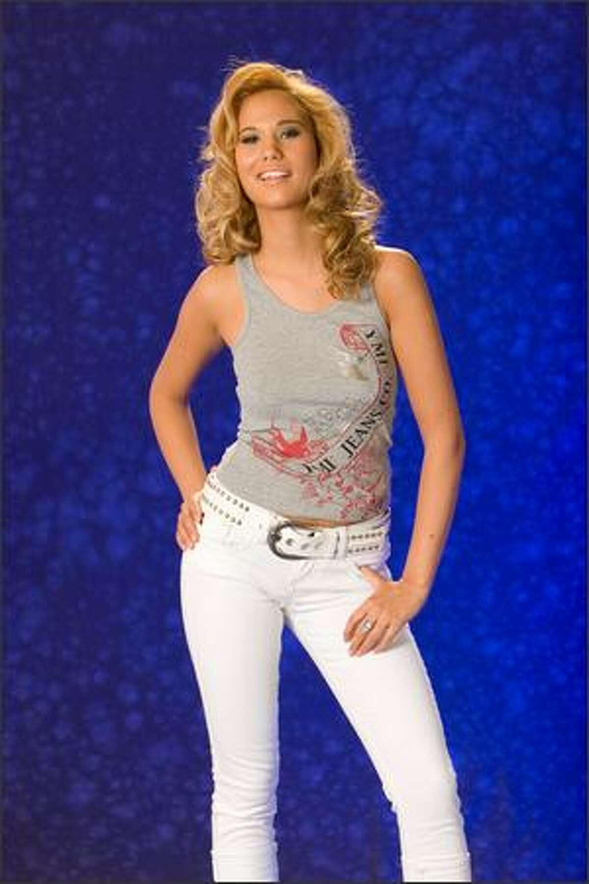 Angelina Glass, Miss Germany 2007.