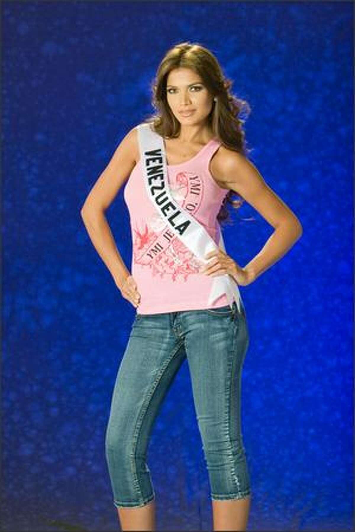 Ly Jonaitis, Miss Venezuela 2007.