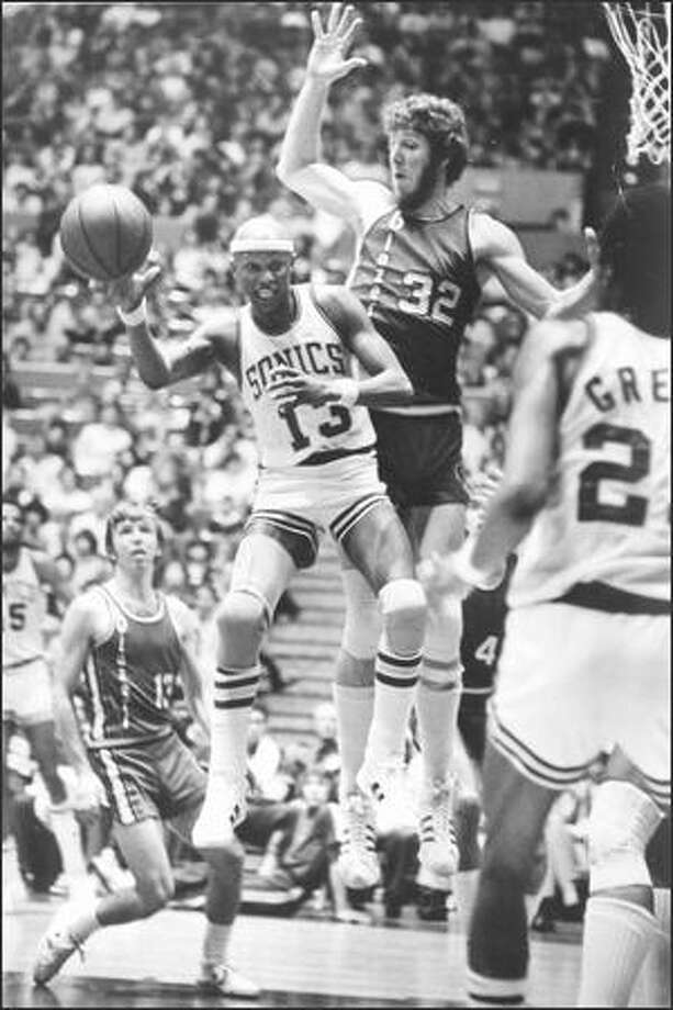 1977: Seattle SuperSonics player Slick Watts. Photo: Seattle Post-Intelligencer