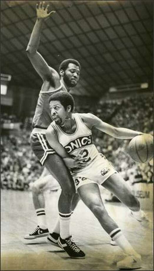 1978: Seattle Sonics player Fred Brown. Photo: Seattle Post-Intelligencer