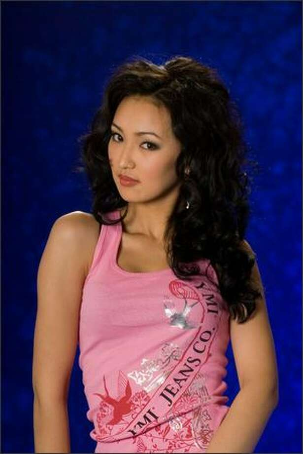 Gaukhar Rakhmetaliyeva, Miss Kazakhstan 2007, poses in her YMI Jeanswear at the Camino Real Mexico in Mexico City on May 4. She will compete for the title of Miss Universe 2007 during the NBC broadcast of the 56th annual Miss Universe competition from Mexico City on May 28. Photo: Miss Universe L.P., LLLP