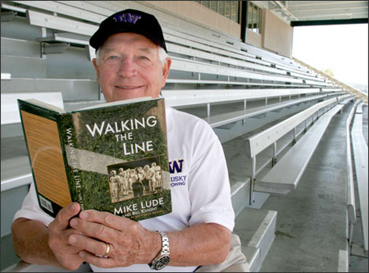 Former University of Washington athletic director Mike Lude has recently published his autobiography,