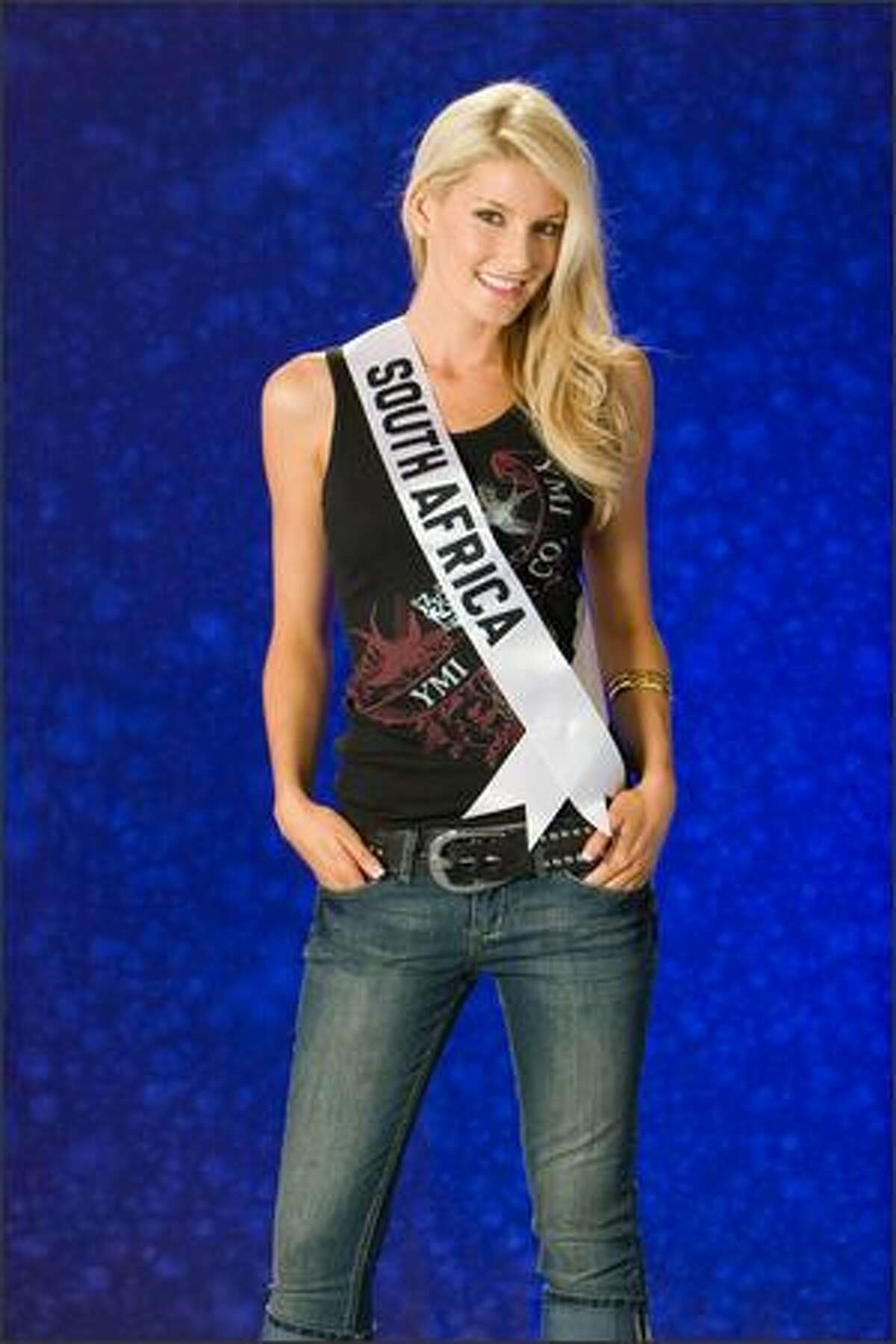 Megan Coleman, Miss South Africa 2007.