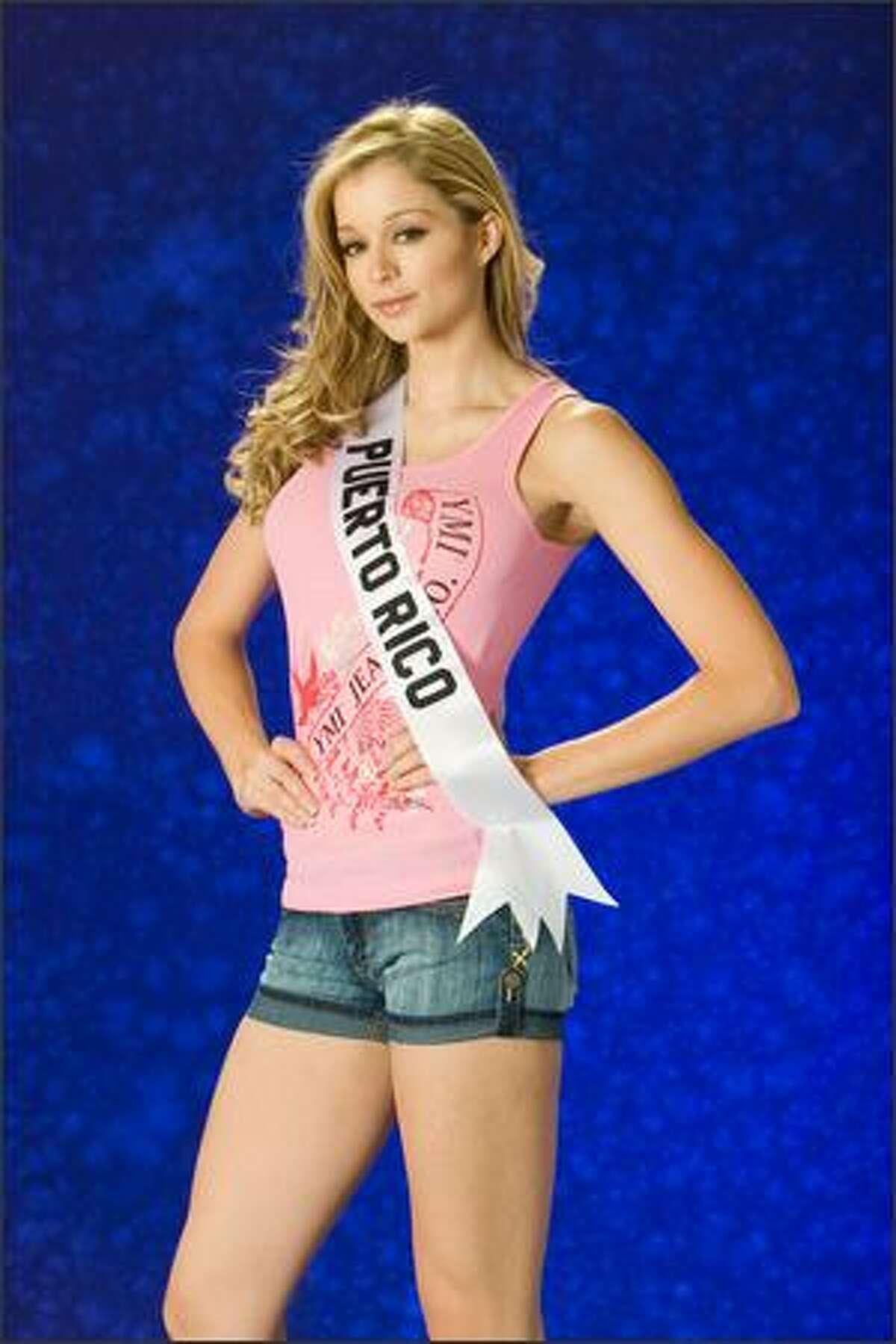 Uma Blasini, Miss Puerto Rico 2007.