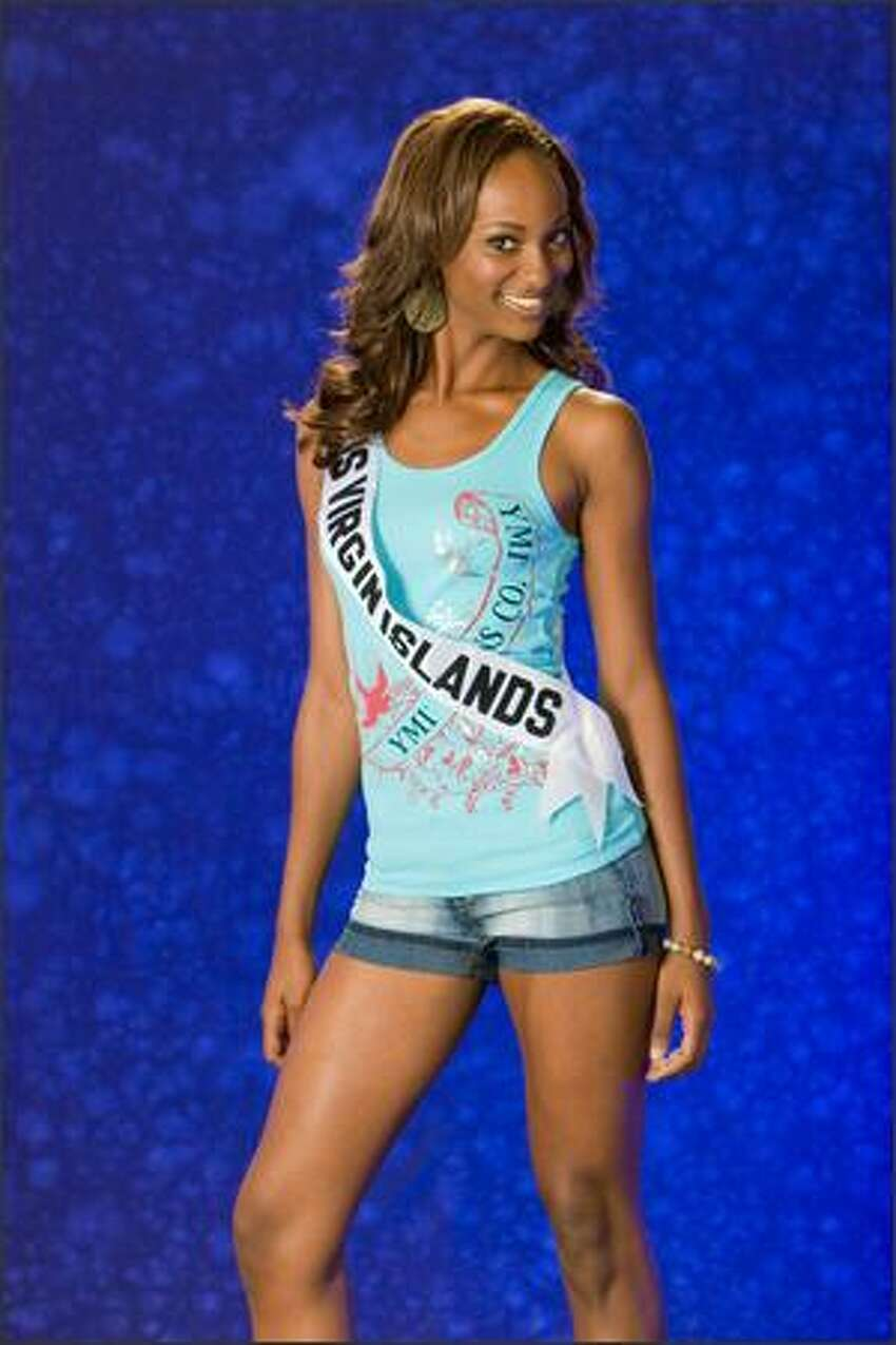 Renata Christian, Miss U.S. Virgin Islands 2007.