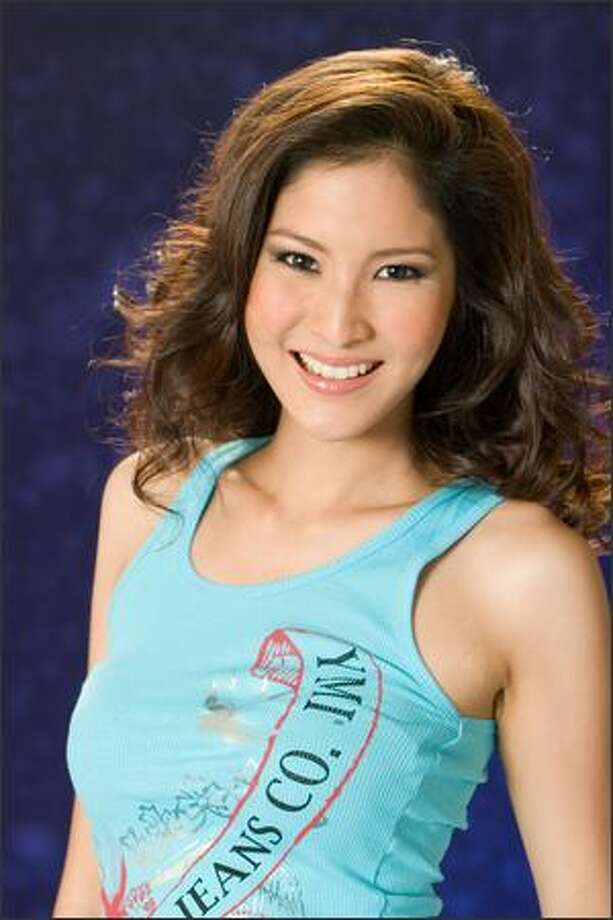 Farung Yuthithum, Miss Thailand 2007, poses in her YMI Jeanswear at the Camino Real Mexico in Mexico City on May 4. She will compete for the title of Miss Universe 2007 during the NBC broadcast of the 56th annual Miss Universe competition from Mexico City on May 28. Photo: Miss Universe L.P., LLLP
