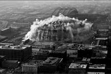 Kingdome implosion, March 26, 2000.